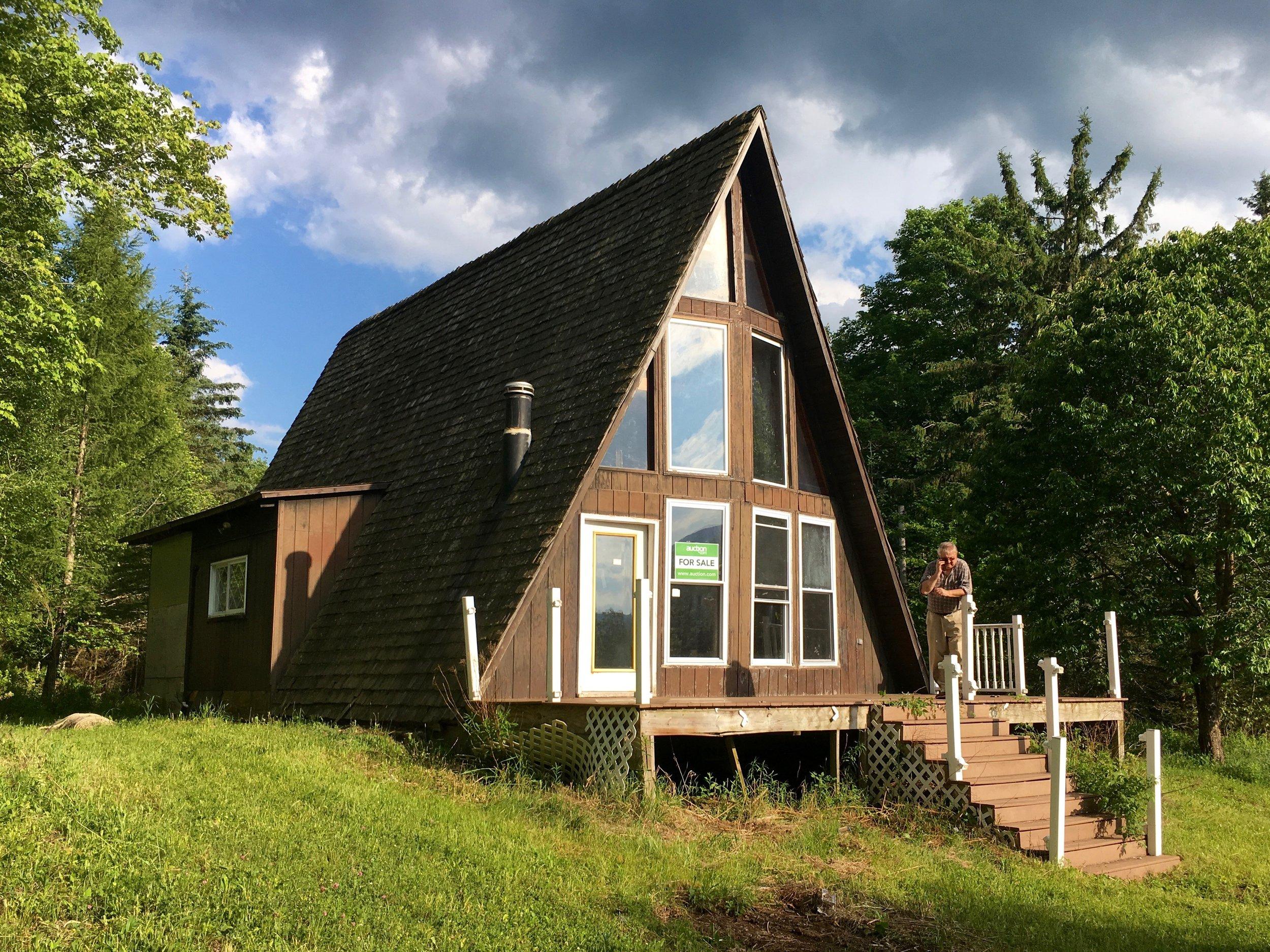 A frame house, Catskills, exterior