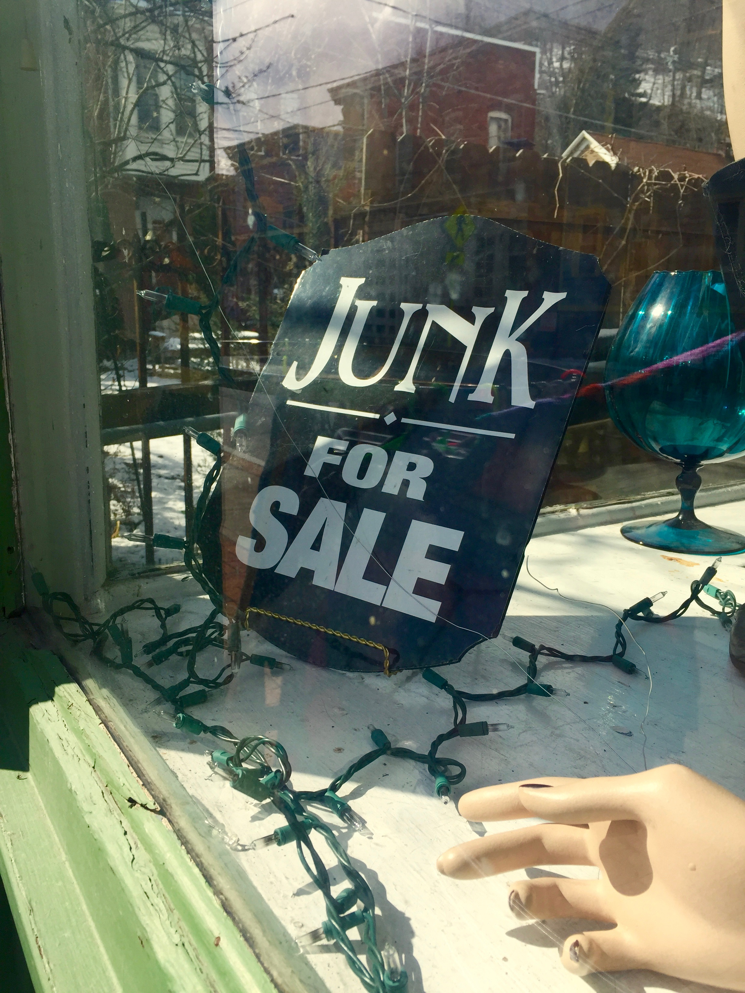 Soiled Dove, Rosendale: Junk for sale