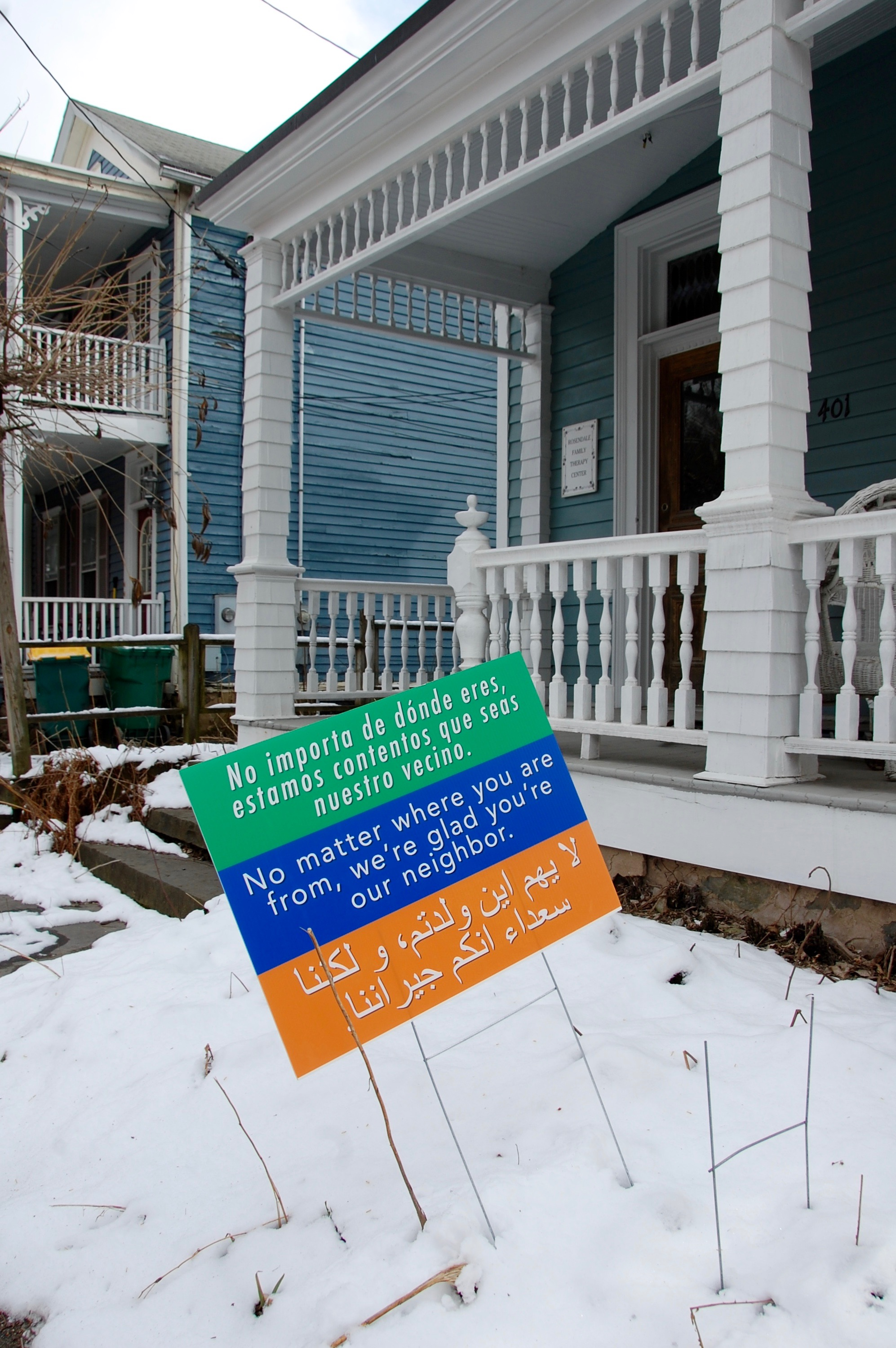 Rosendale Family Therapy Center: No matter where you are from, we're glad you're our neighbor.