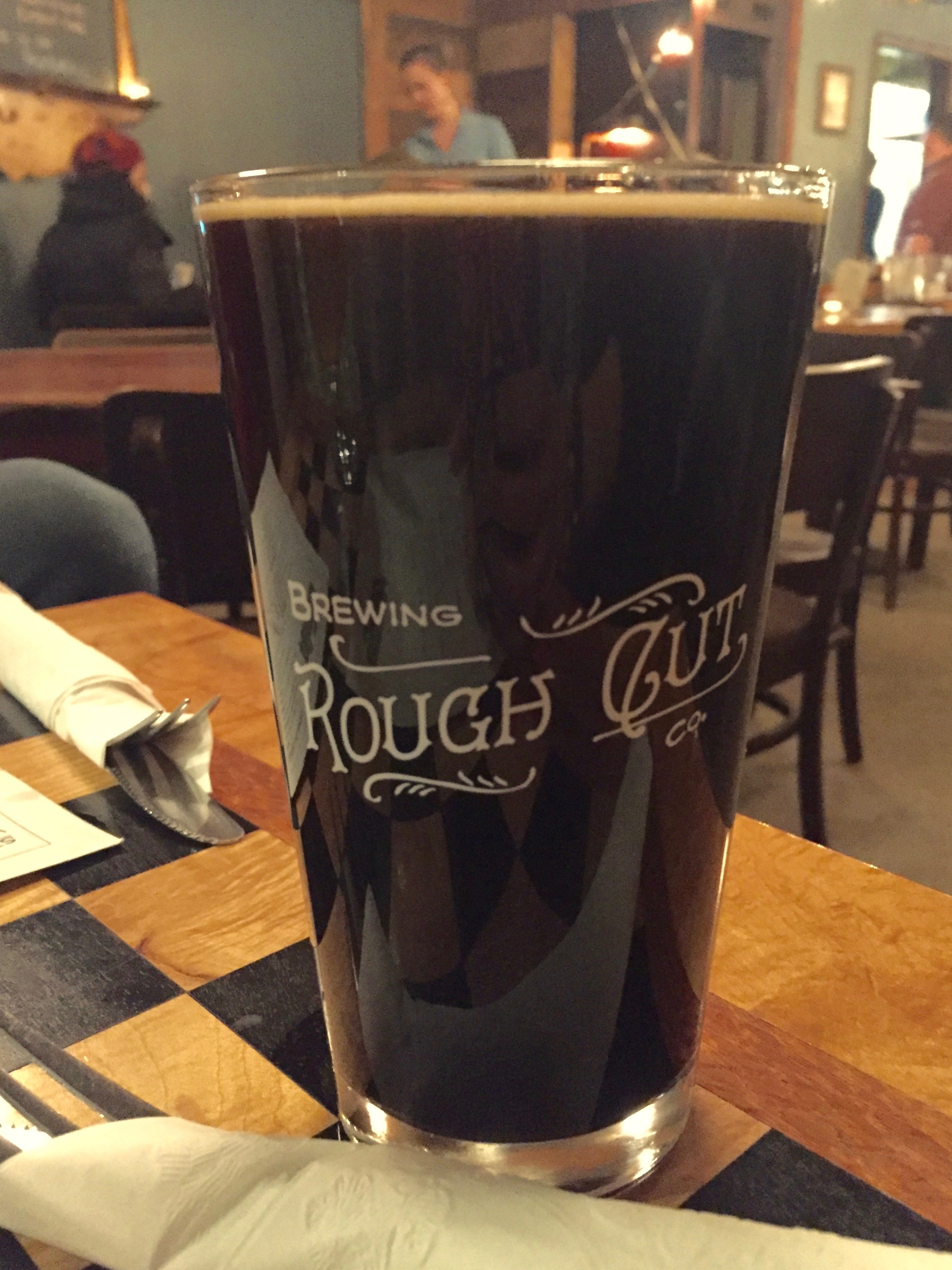 Holstein Milk Stout at Rough Cut Brewing Co.