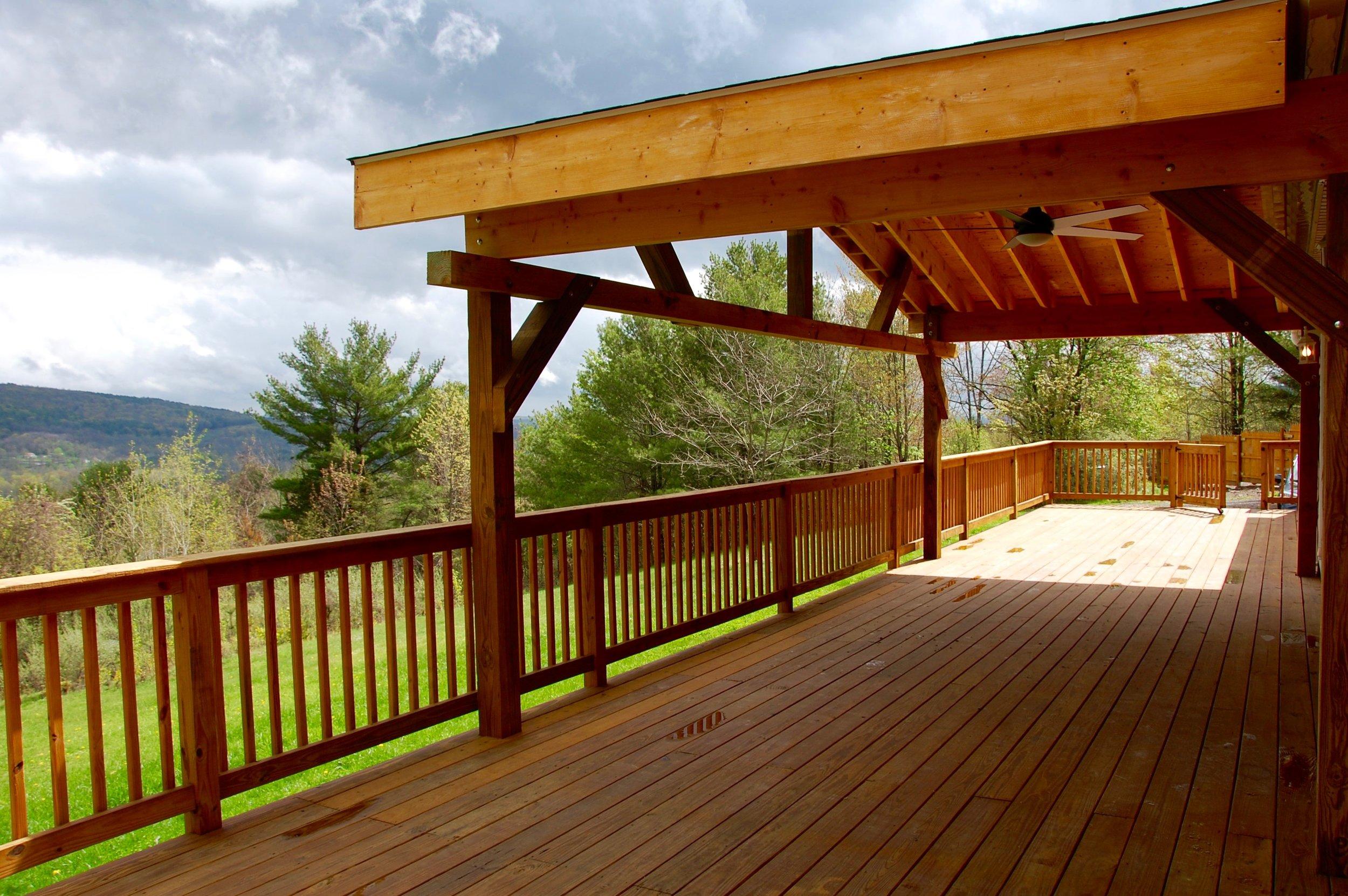 Catskills deck contractor greene county construction