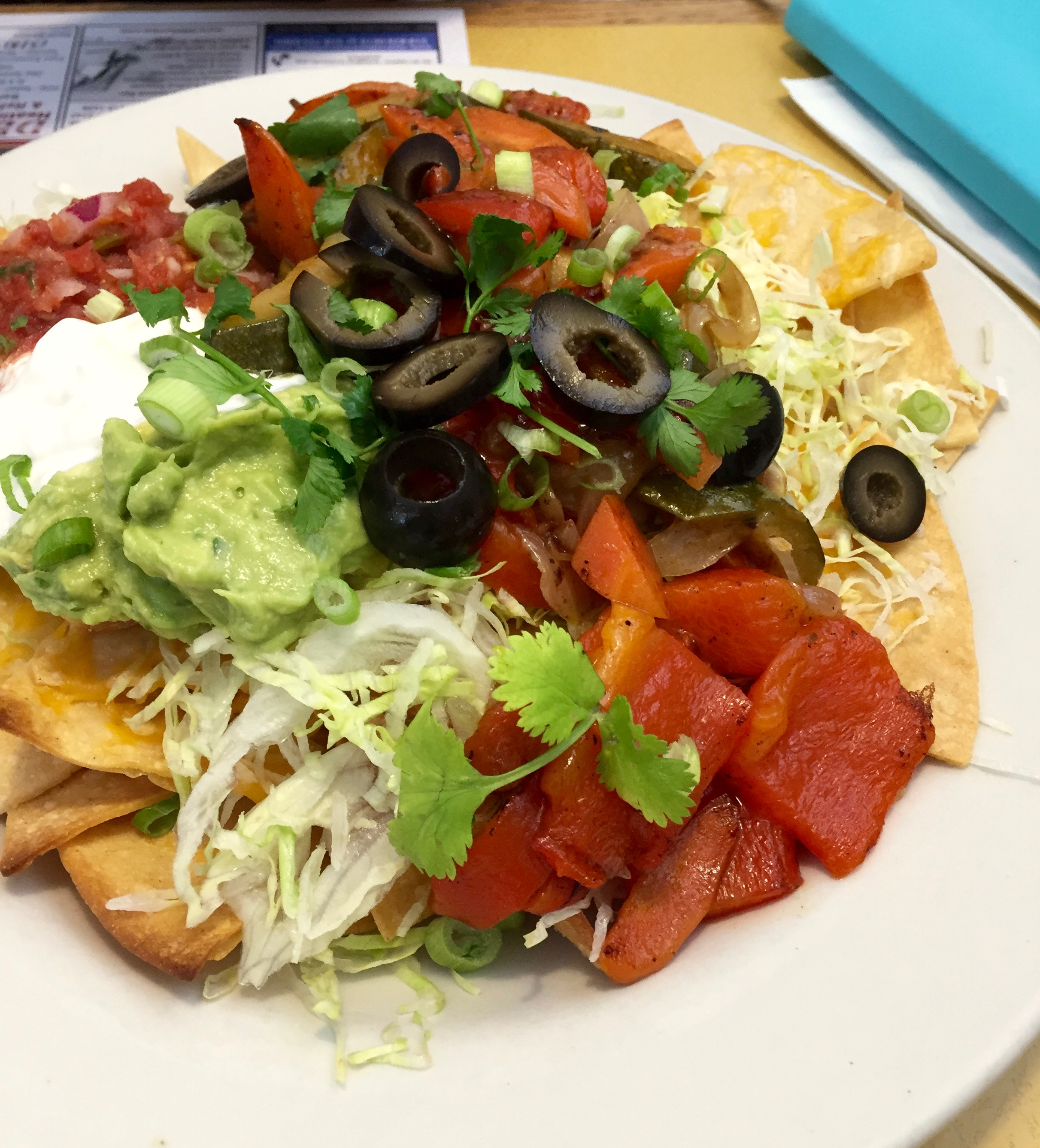 Nachos from Angel's Cafe in East Durham, NY
