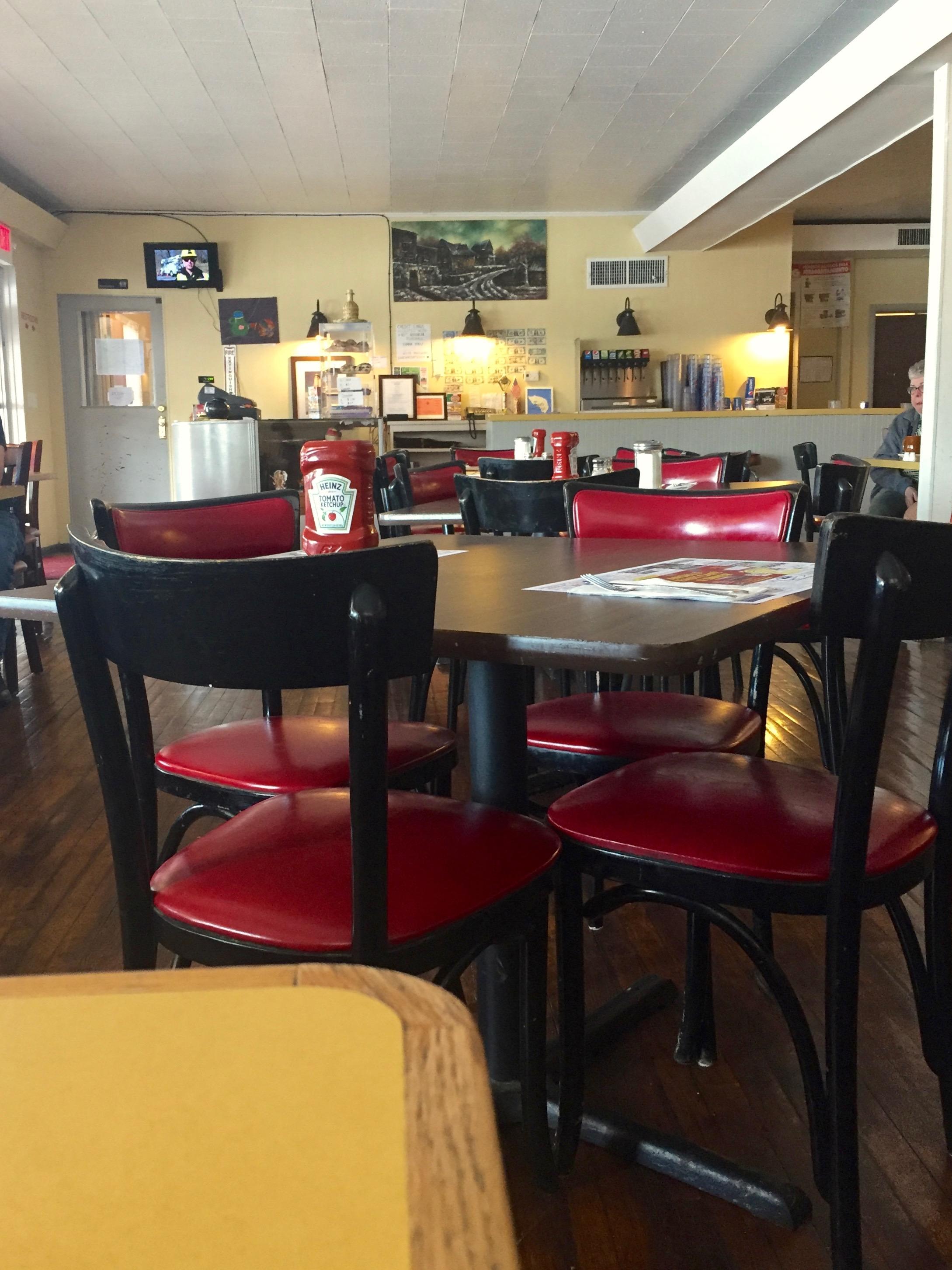 Inside Angel's Cafe