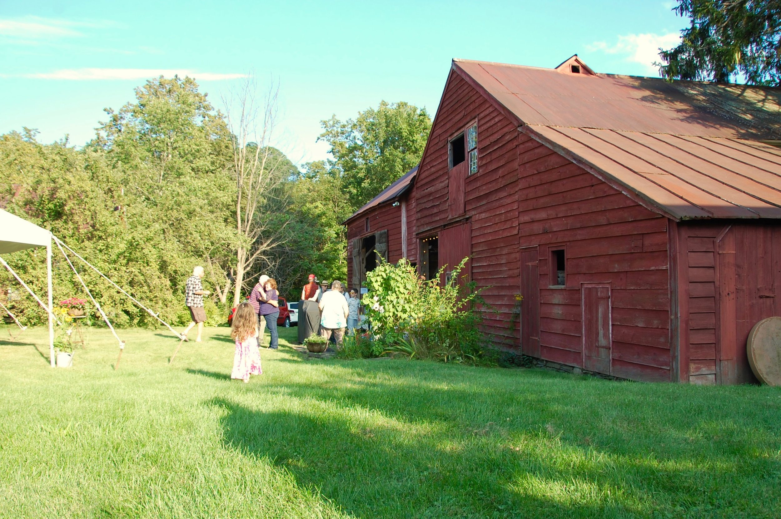 catskills barn party
