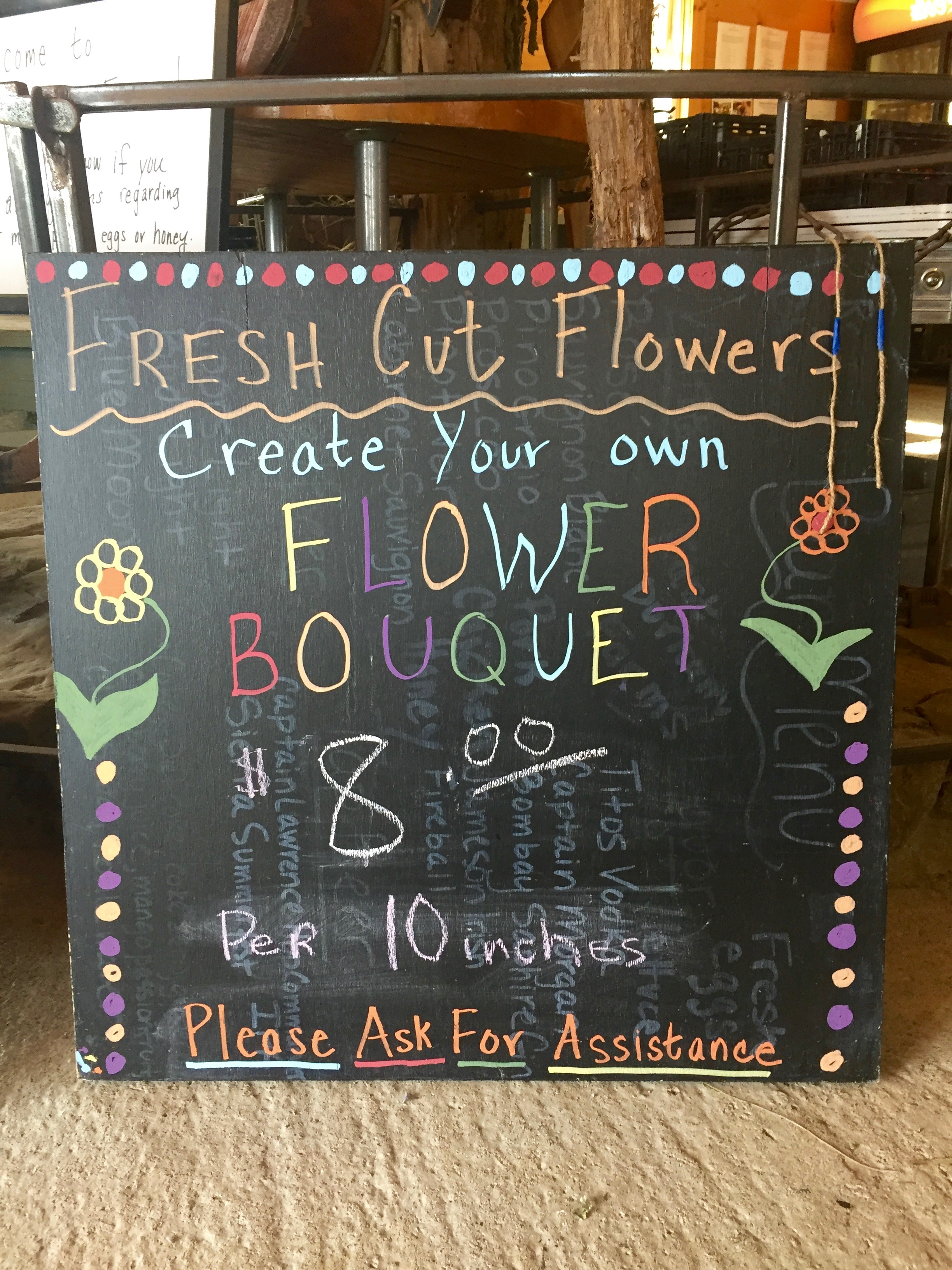 Pick your own flowers in the Catskills