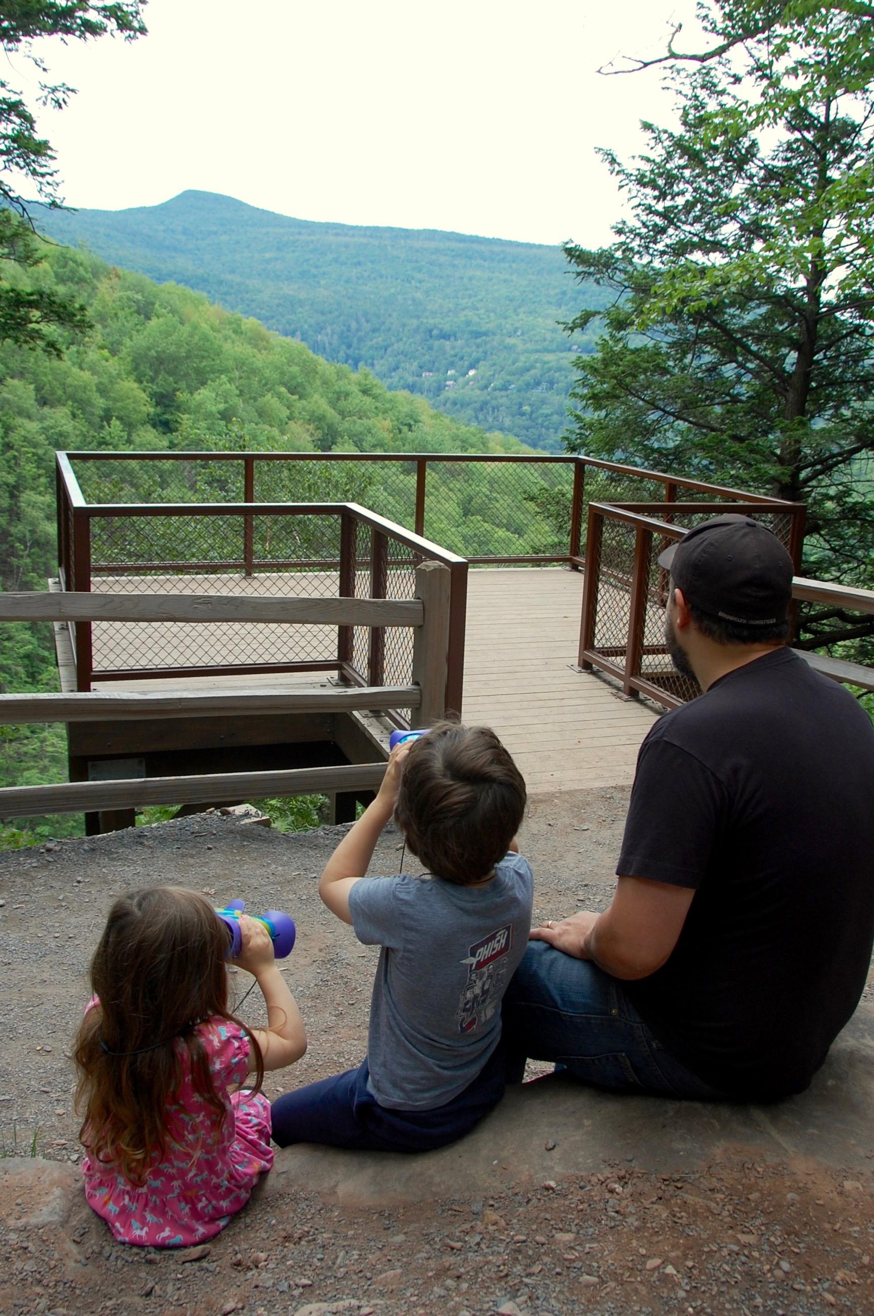 Kaaterskill Falls viewing platform