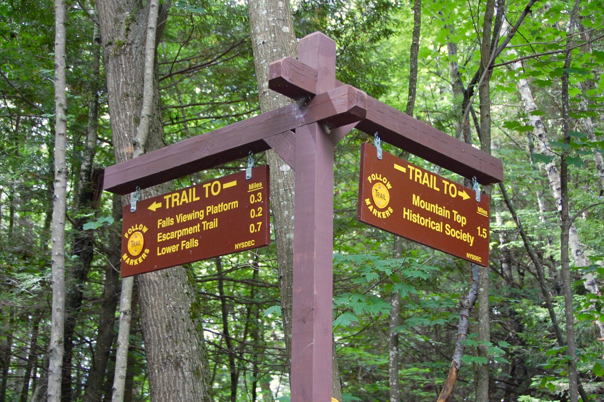 kaaterskill falls trails