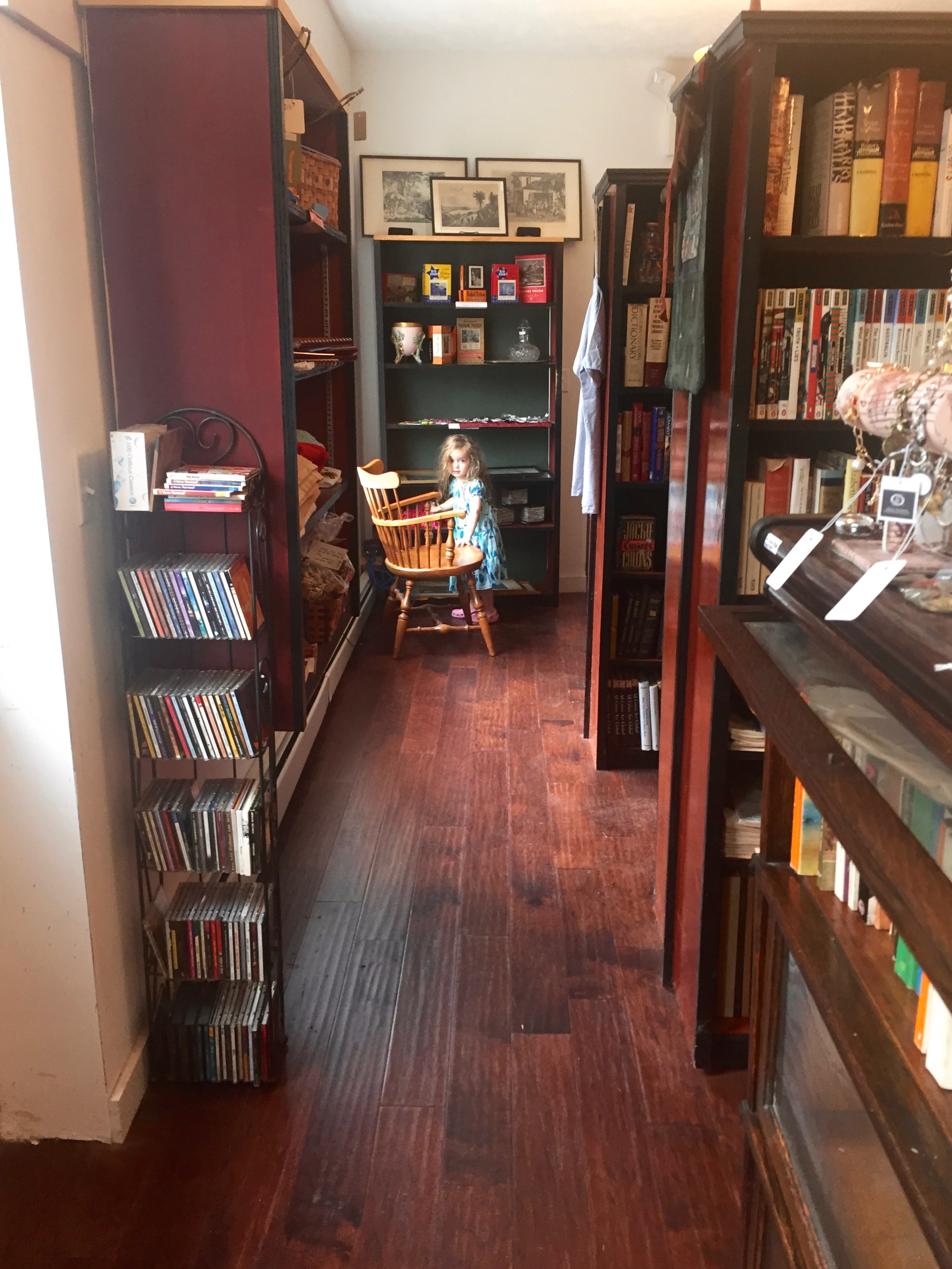 Inside Liberty Rock Books