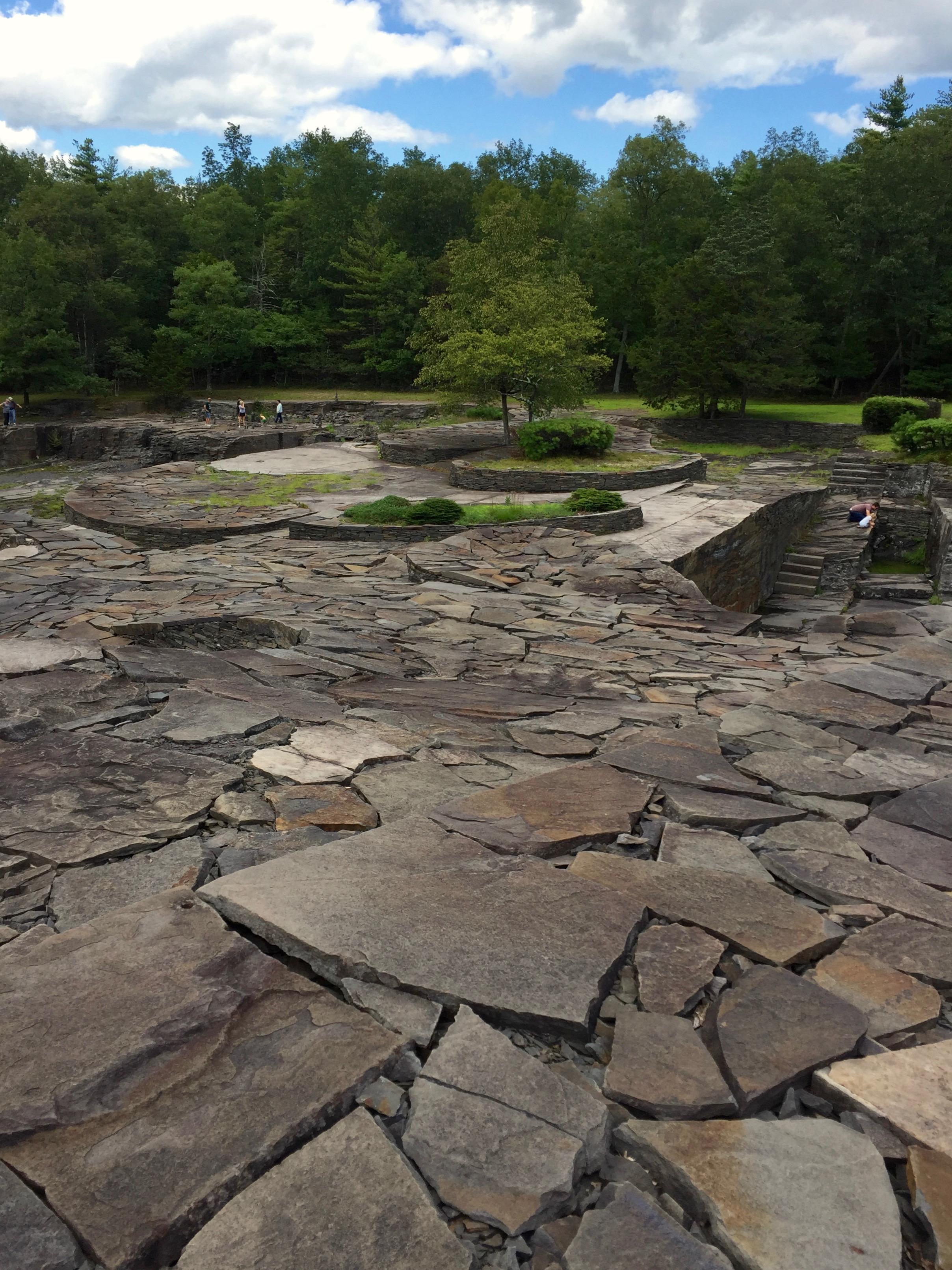 Opus 40 Saugerties sculpture garden