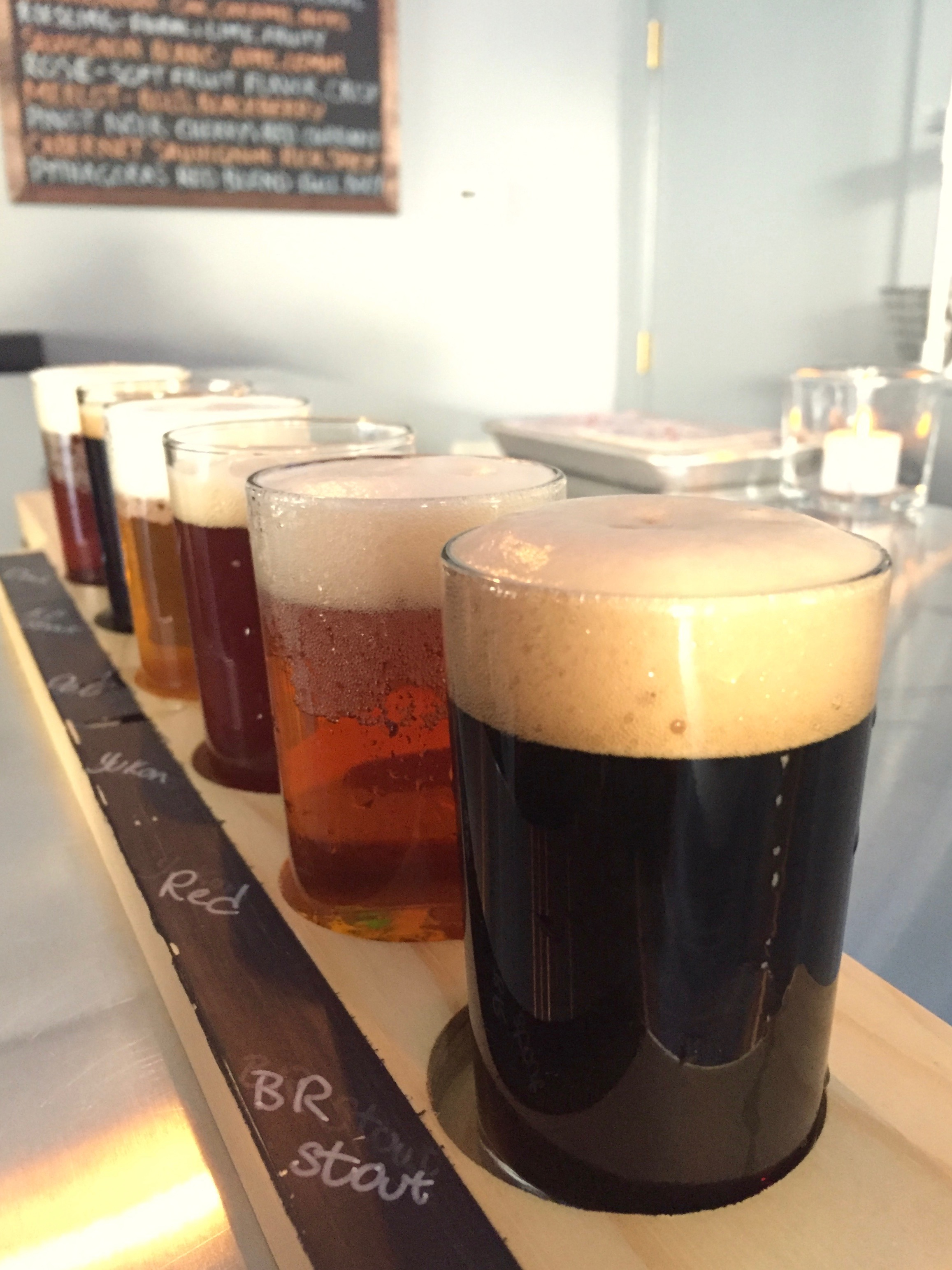 crossroads brewing flight