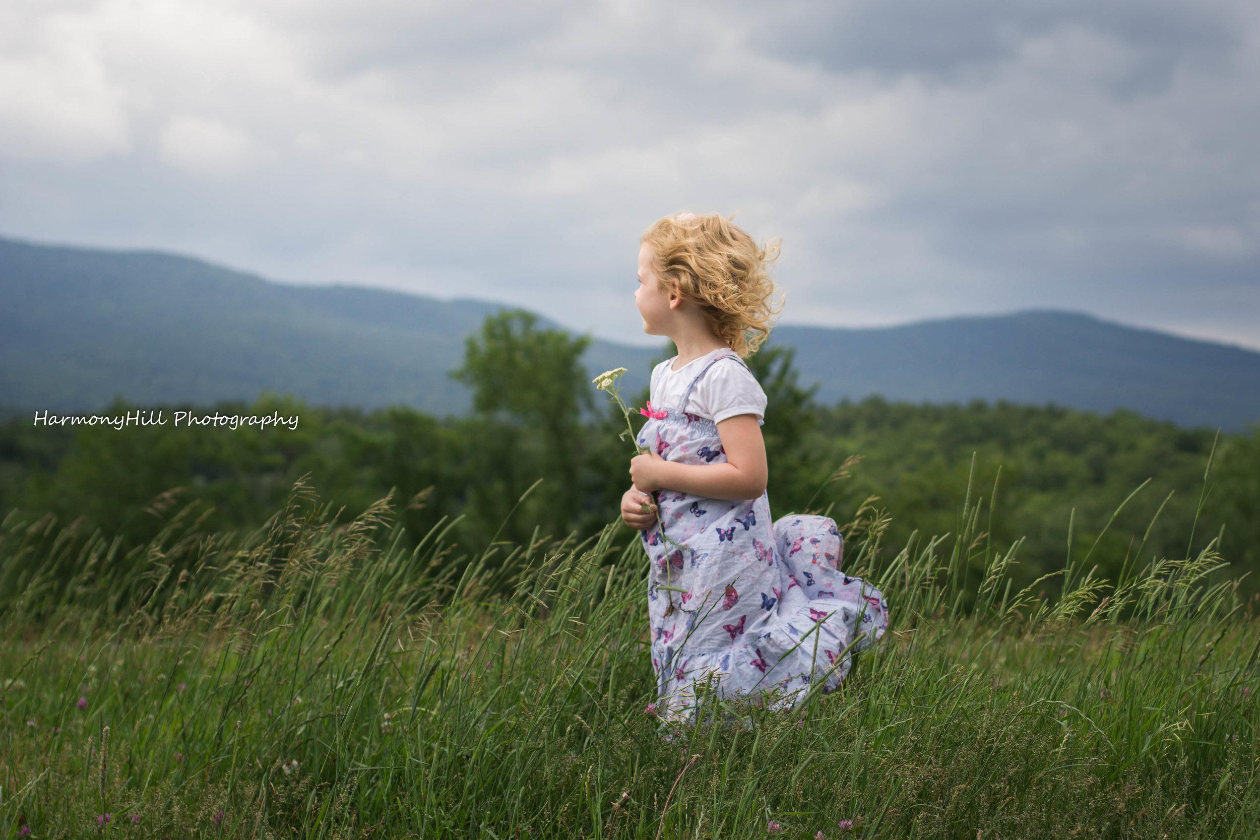 catskill mountains child portrait harmonyhill by christine mcilhenny