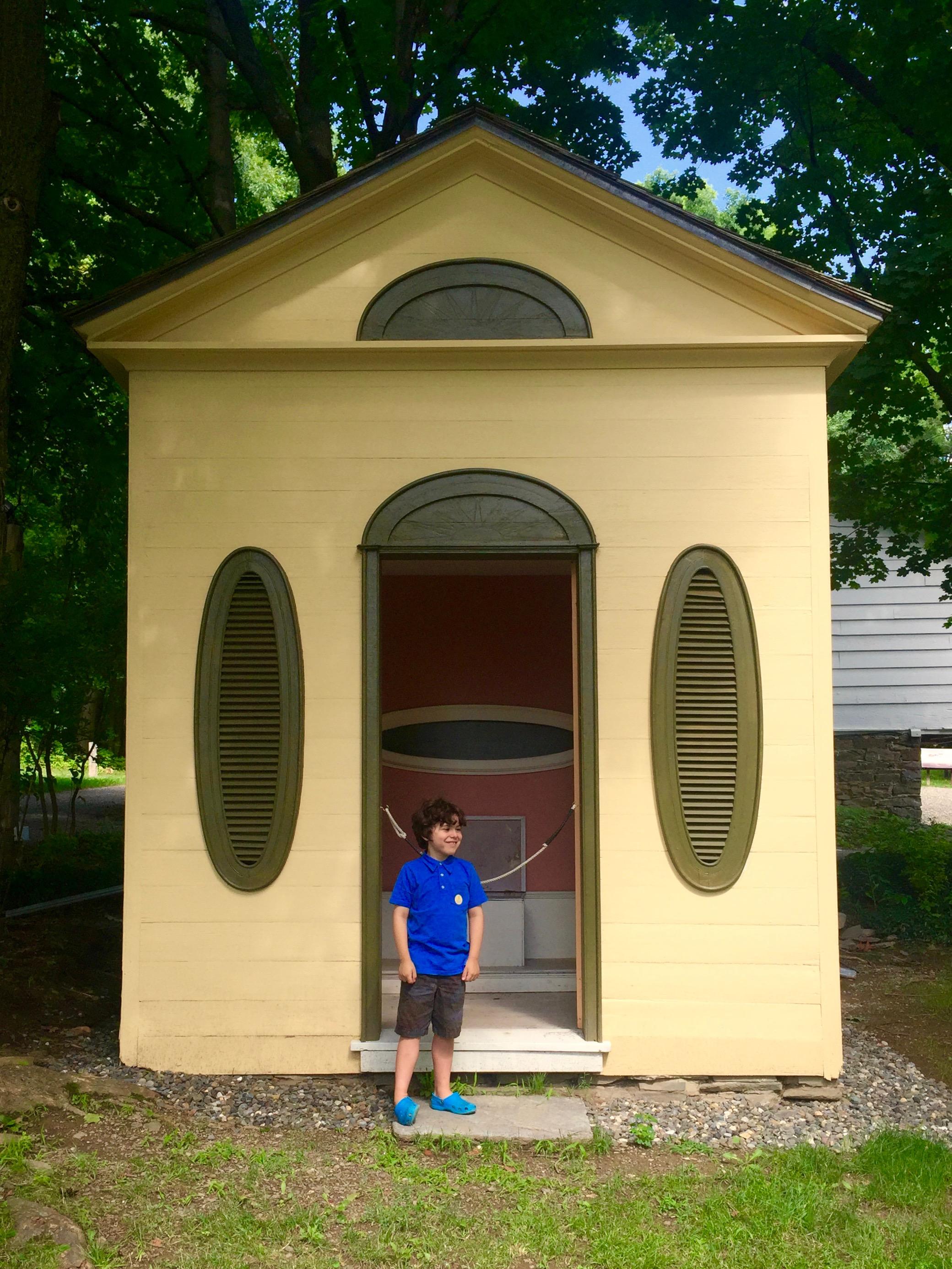 thomas cole outhouse catskill