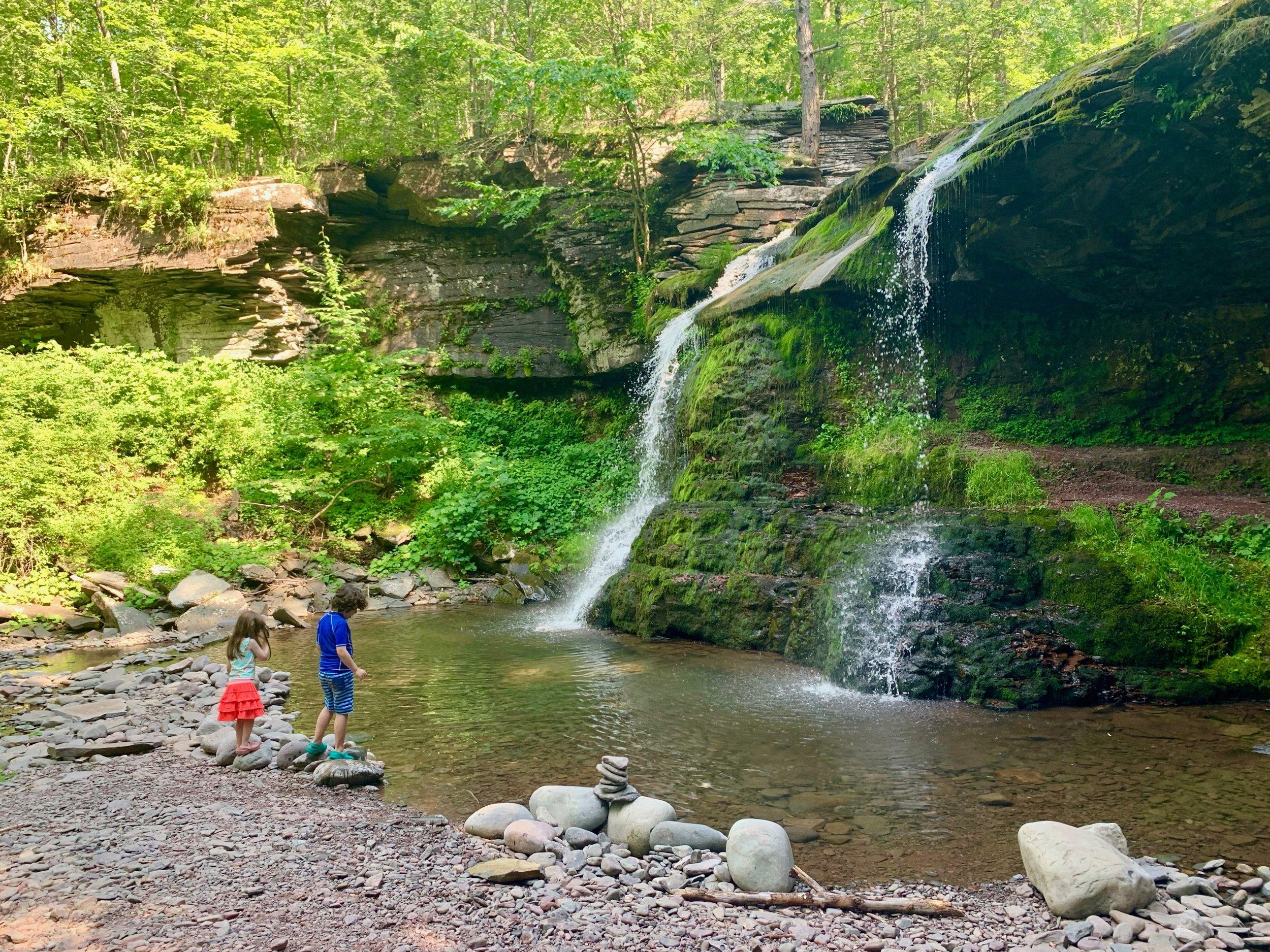 best waterfalls catskills crystal brook resort