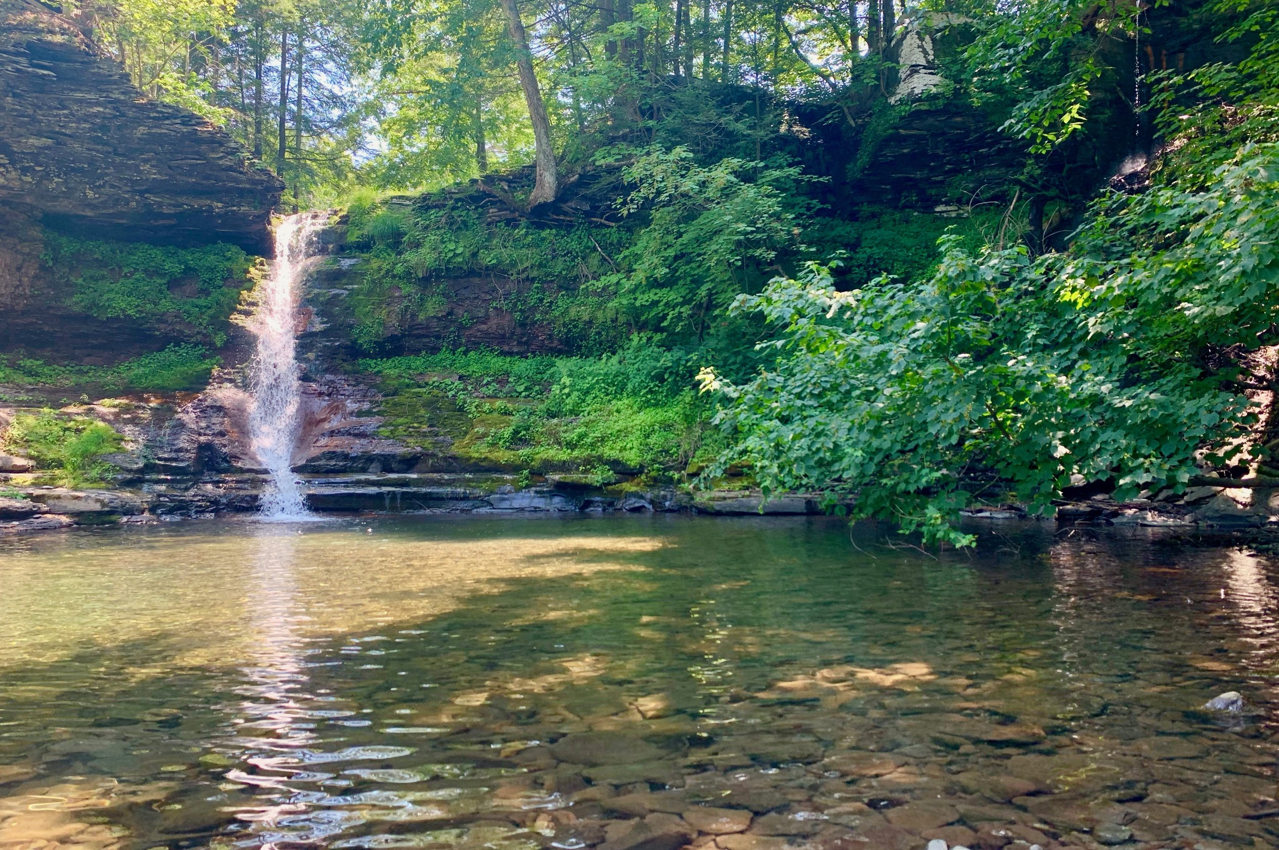 best swimming holes catskills