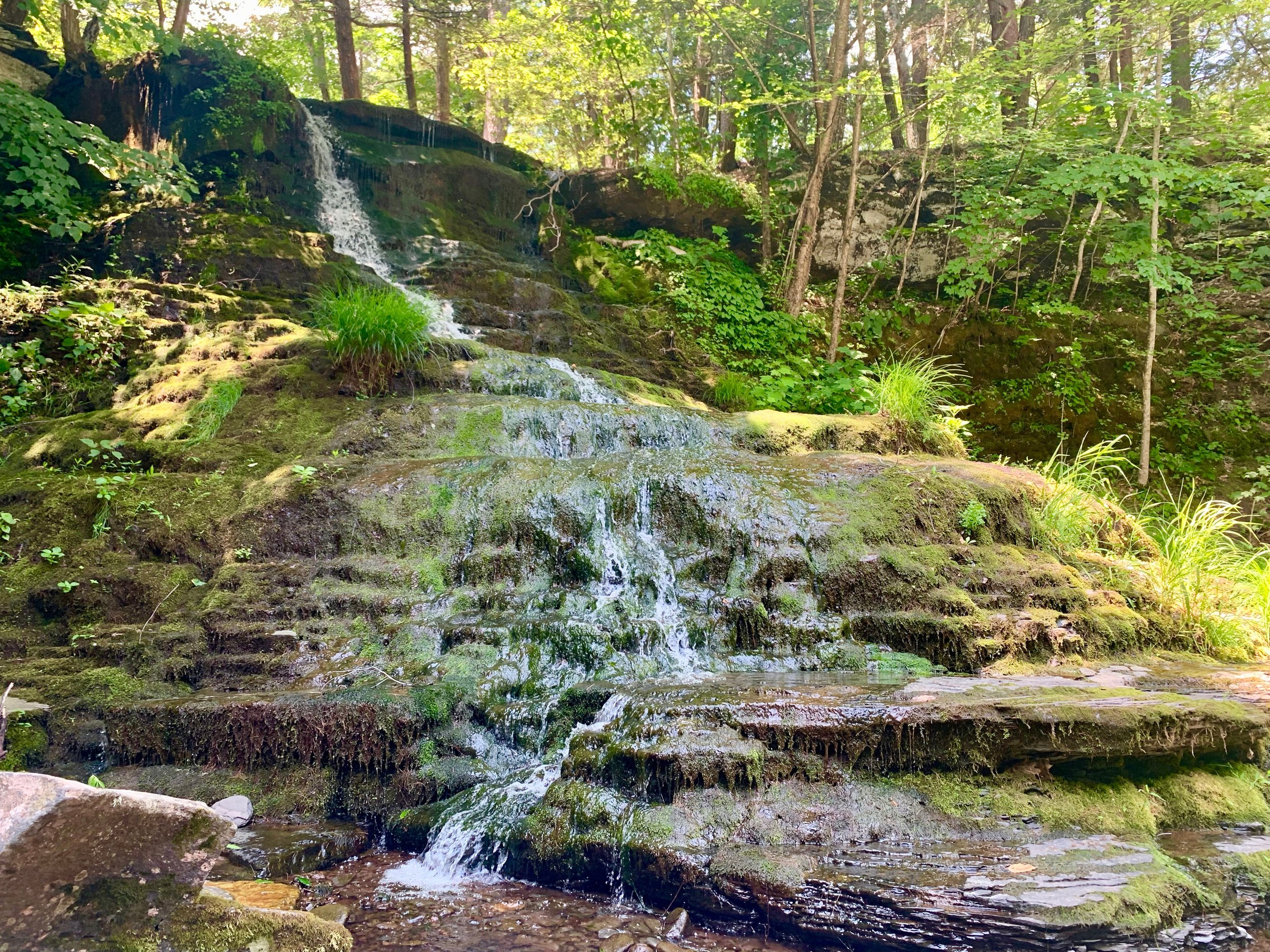 catskill mountains waterfall hike