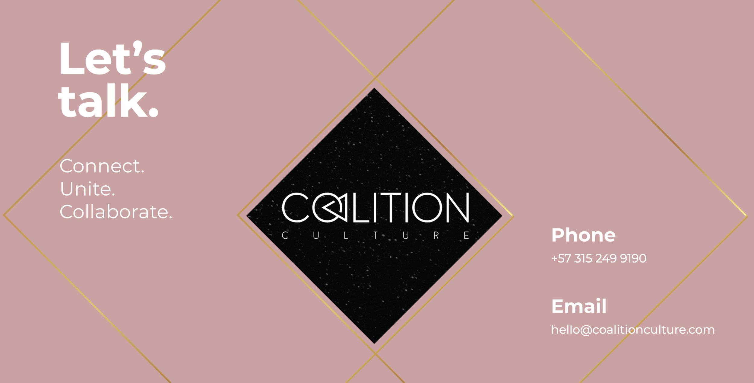 Contact Coalition Culture