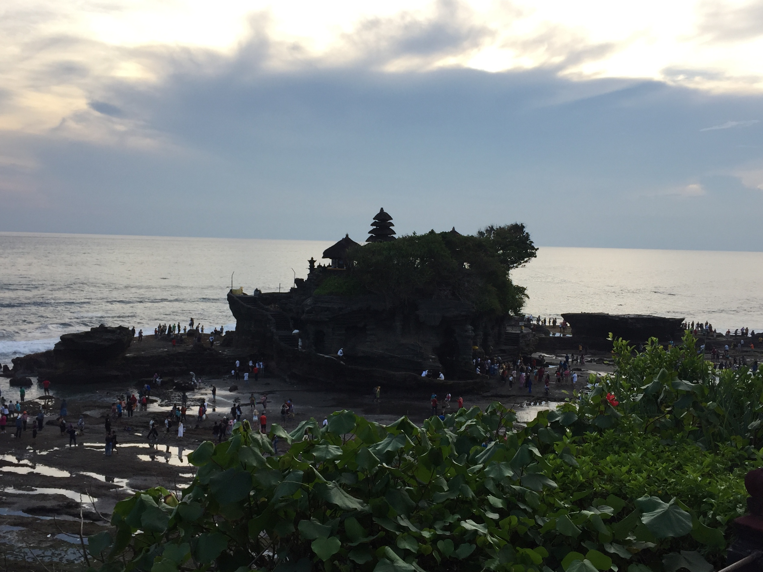 Tanah Lot - Sunset Crowd