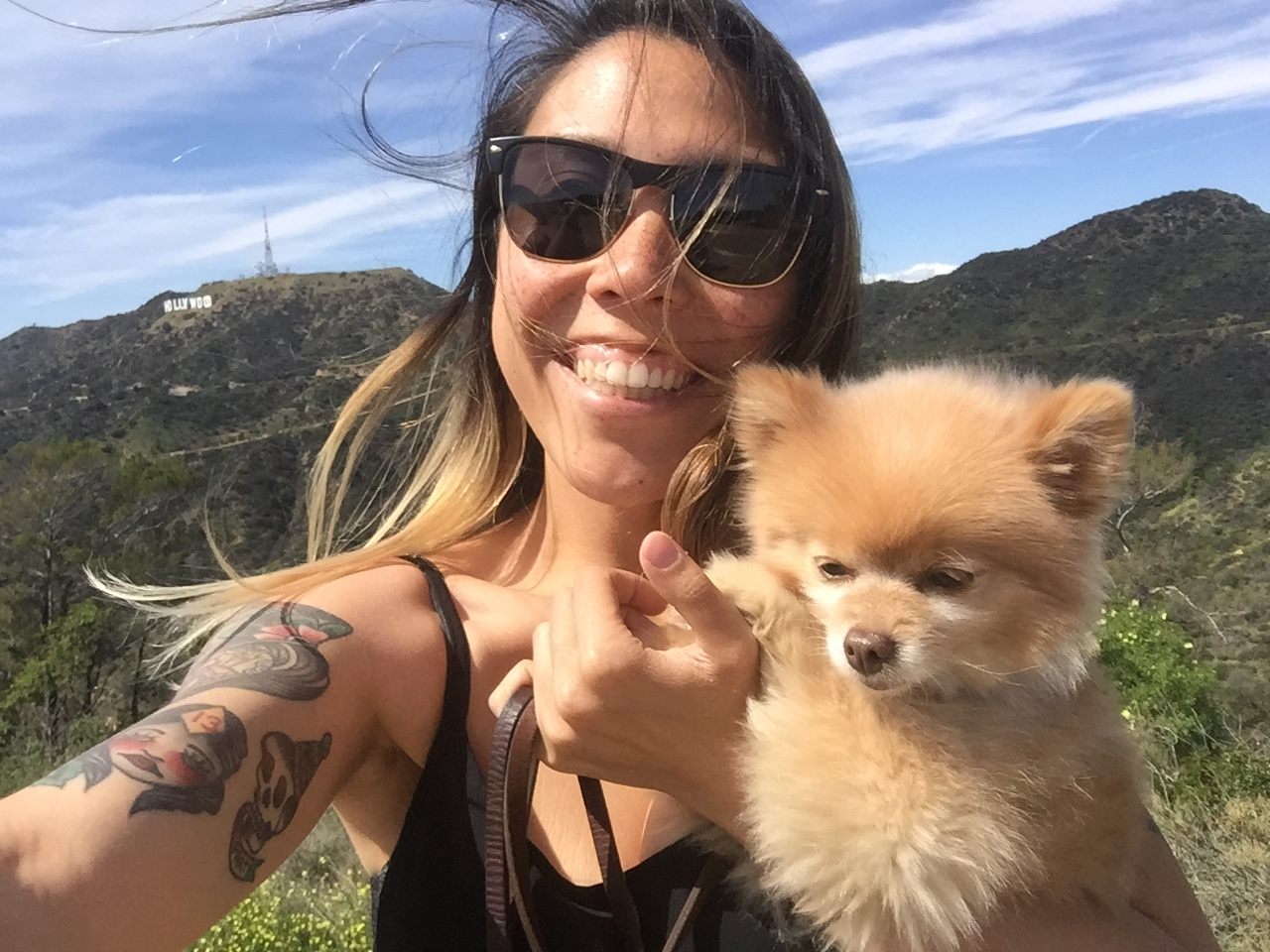 say yes to hiking Griffith Park with Lil Dau
