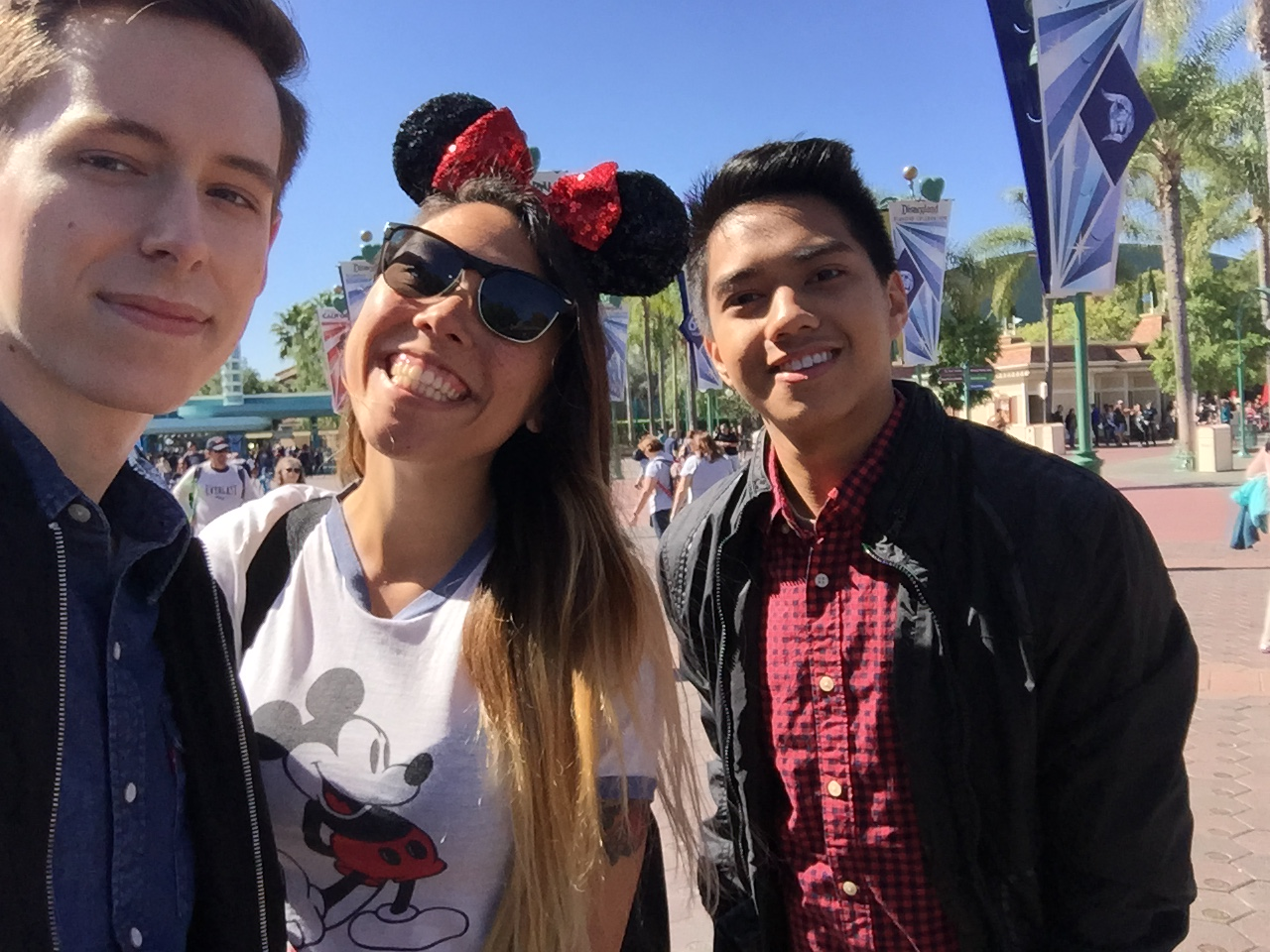 say yes ALWAYS to the happiest place on earth with two of my favorites!