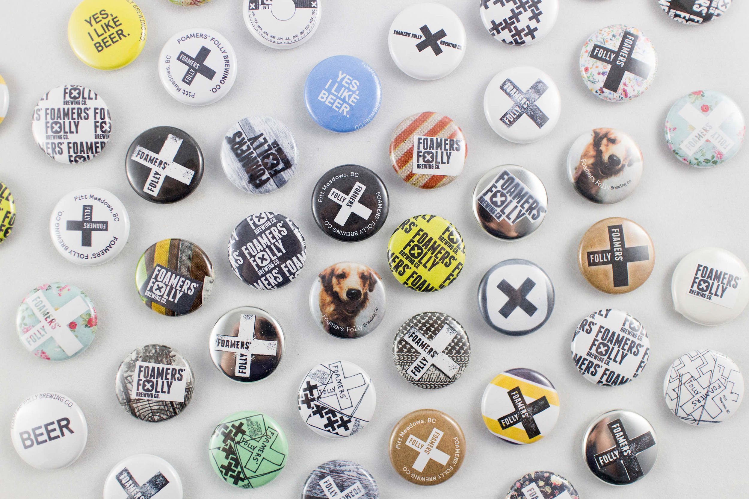 Free Swag: Custom buttons