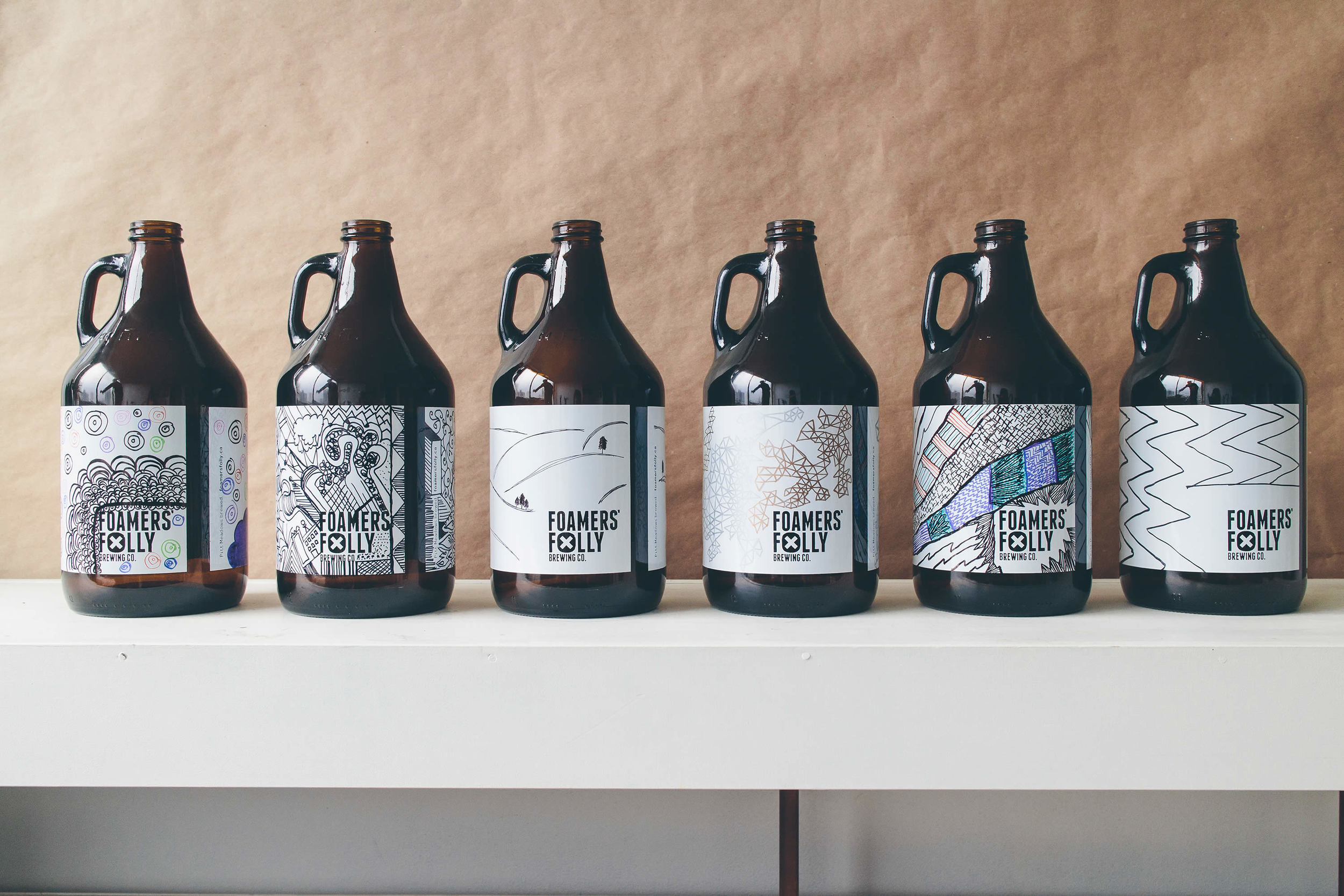 Custom growler design