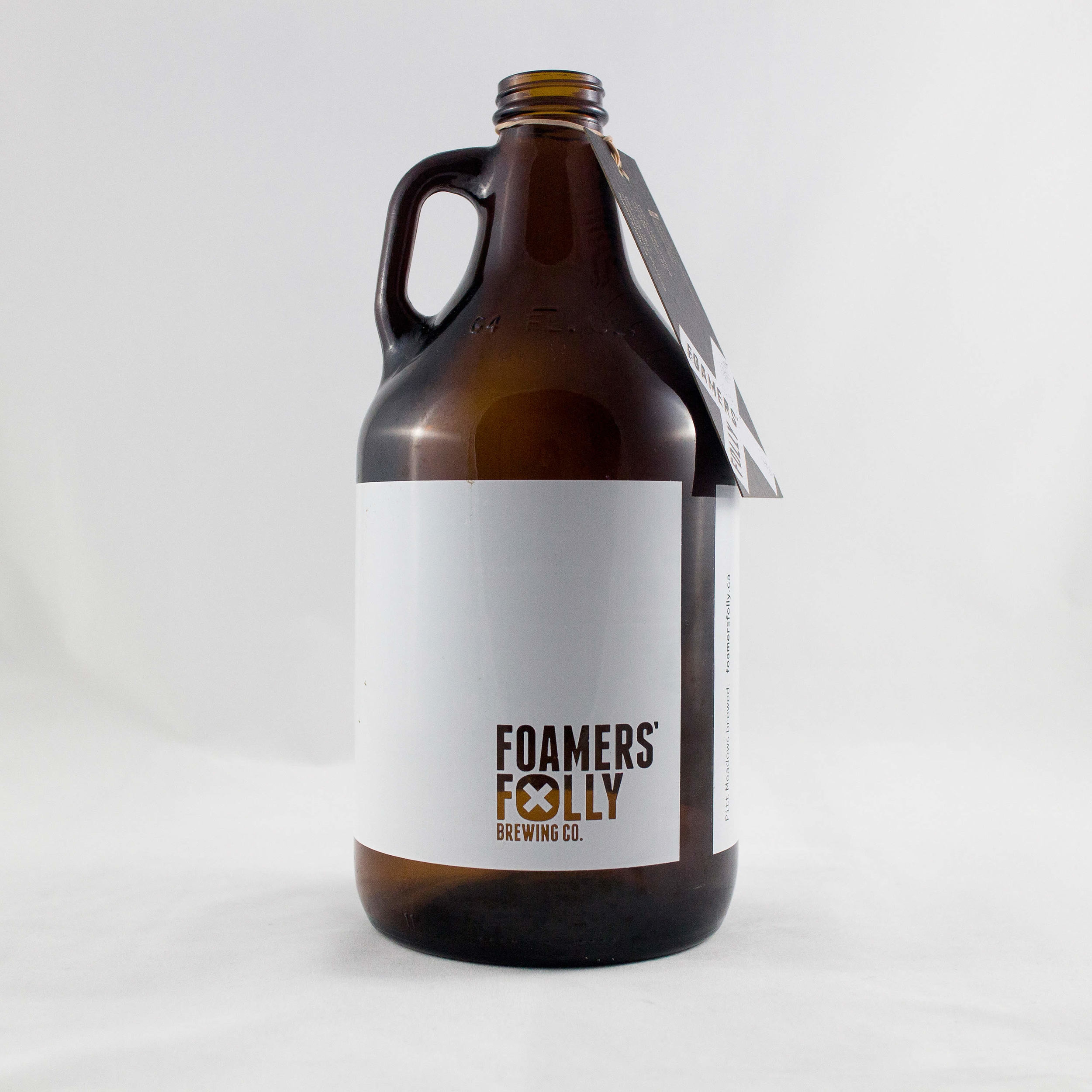 Growler Concept: Draw on your growler or write down the beer history.