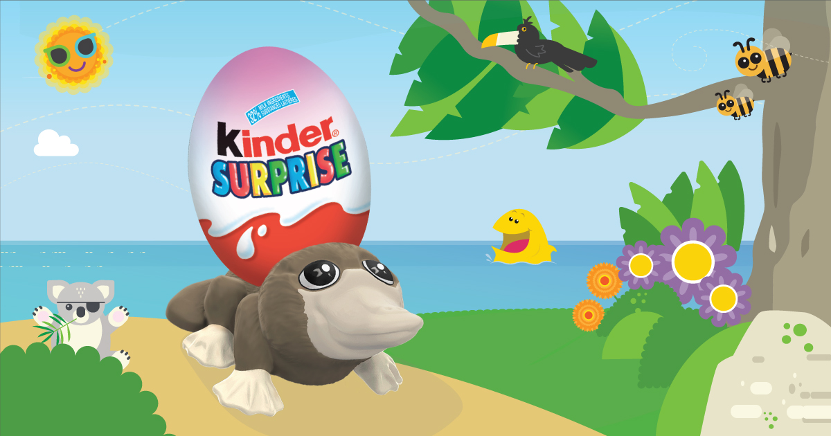 Copy: Let KINDER® SURPRISE® take you on an adventure!