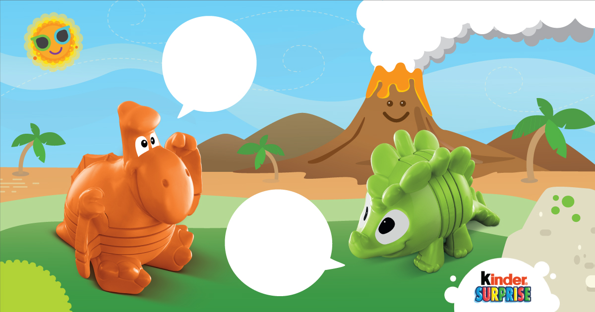 Copy: What are these two Dinos saying to each other?