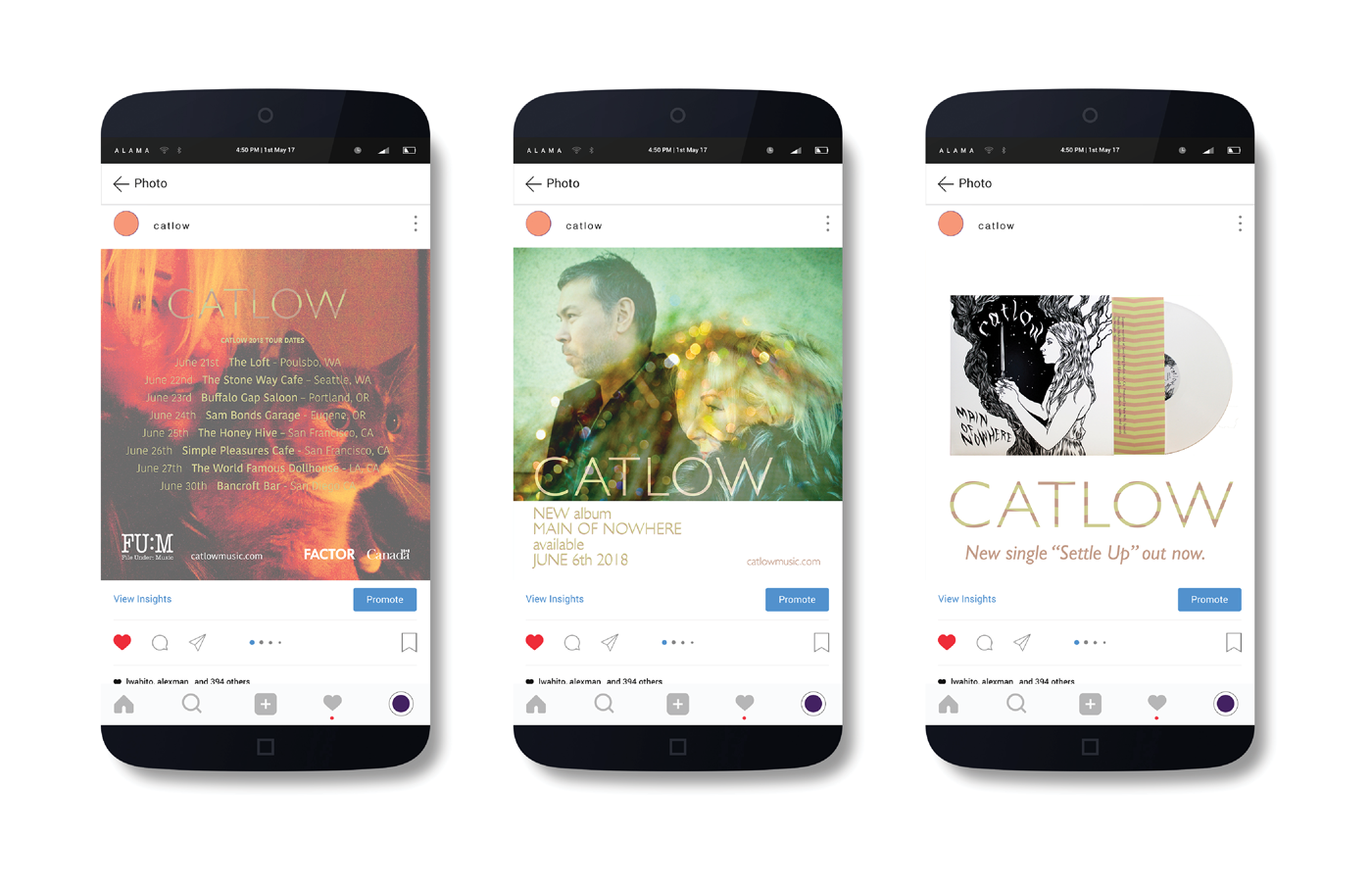 File Under: Music -  Catlow - Social Content