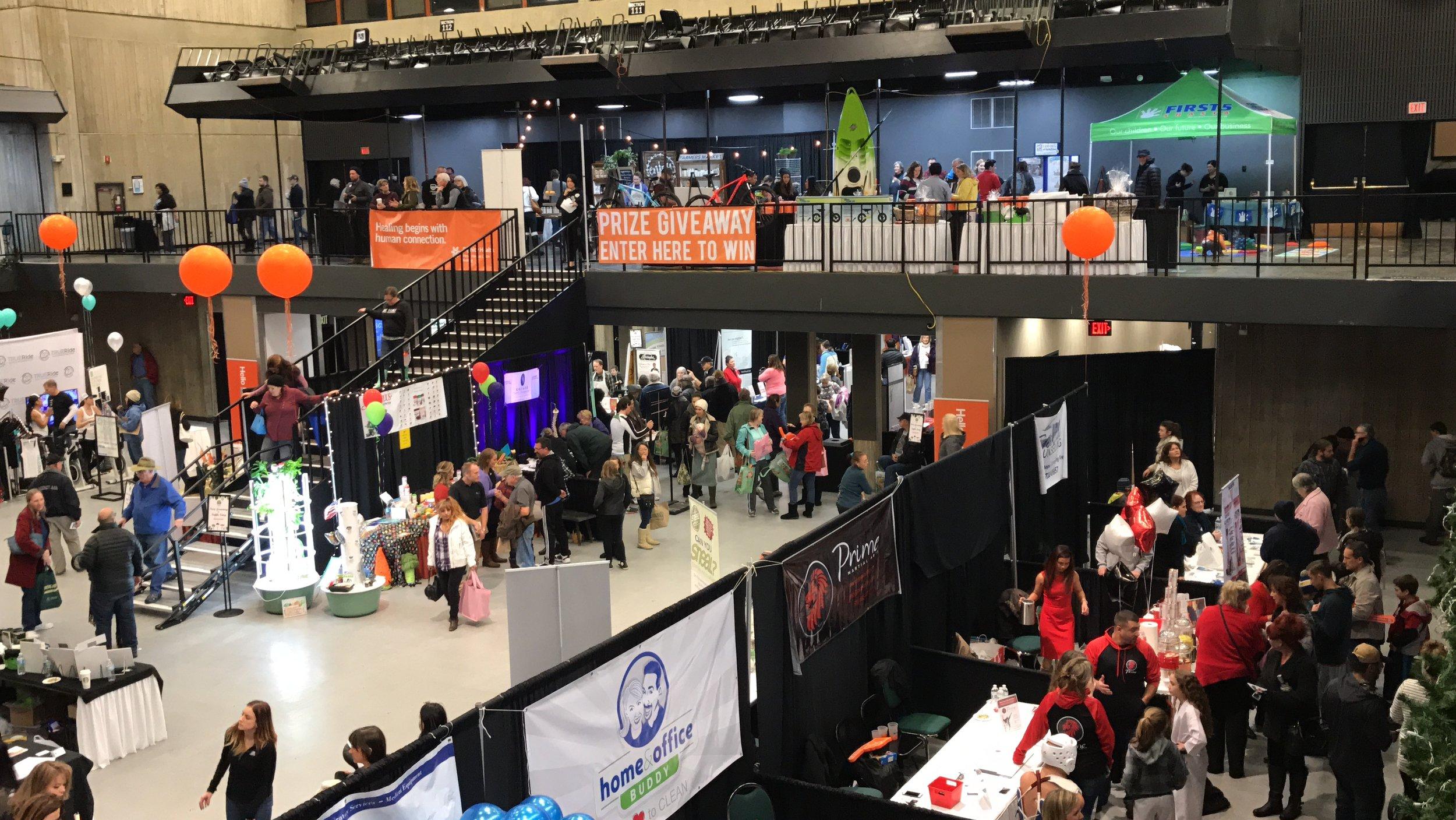 Redding Health Expo at Redding Civic Auditorium, January 2017