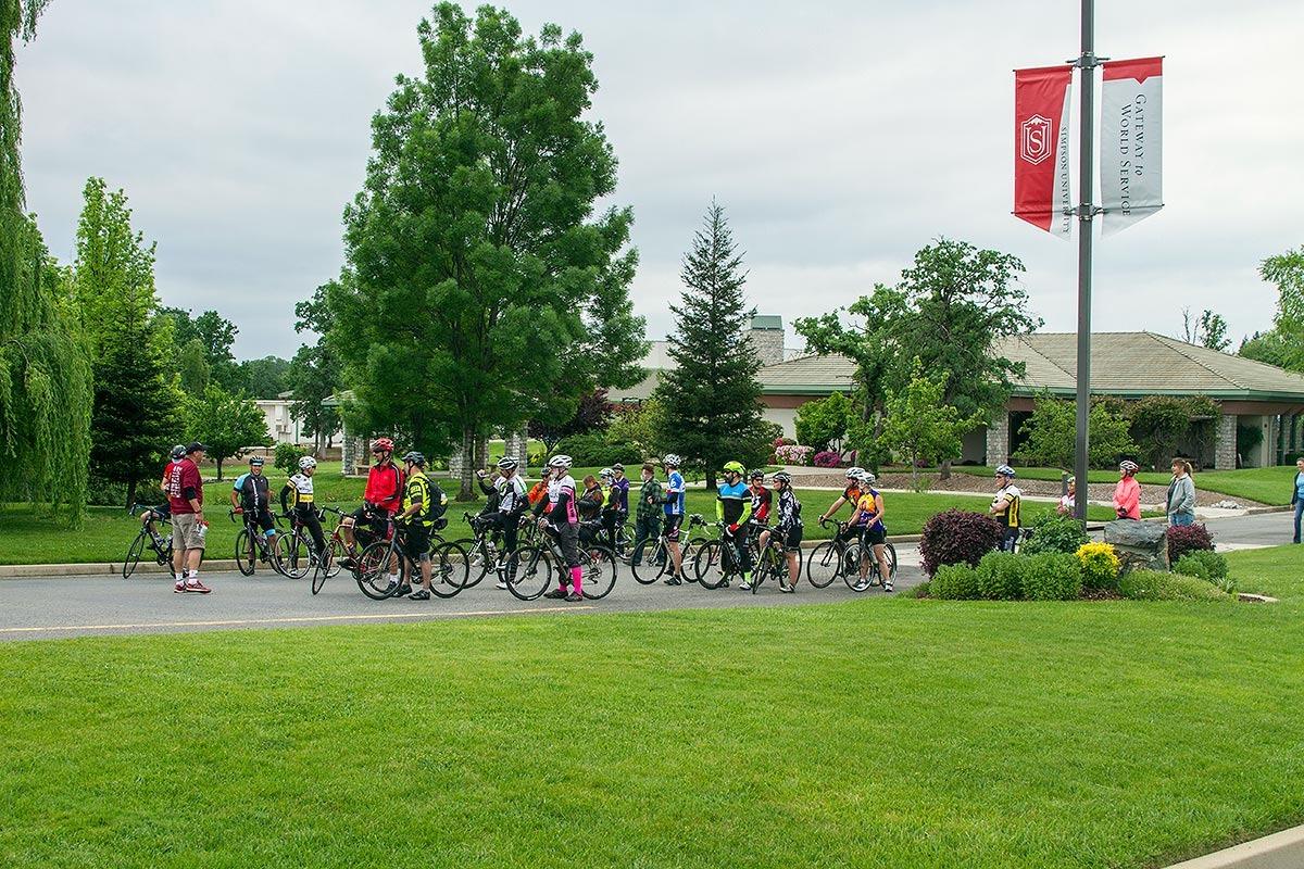 Red Hawk Ride at Simpson University