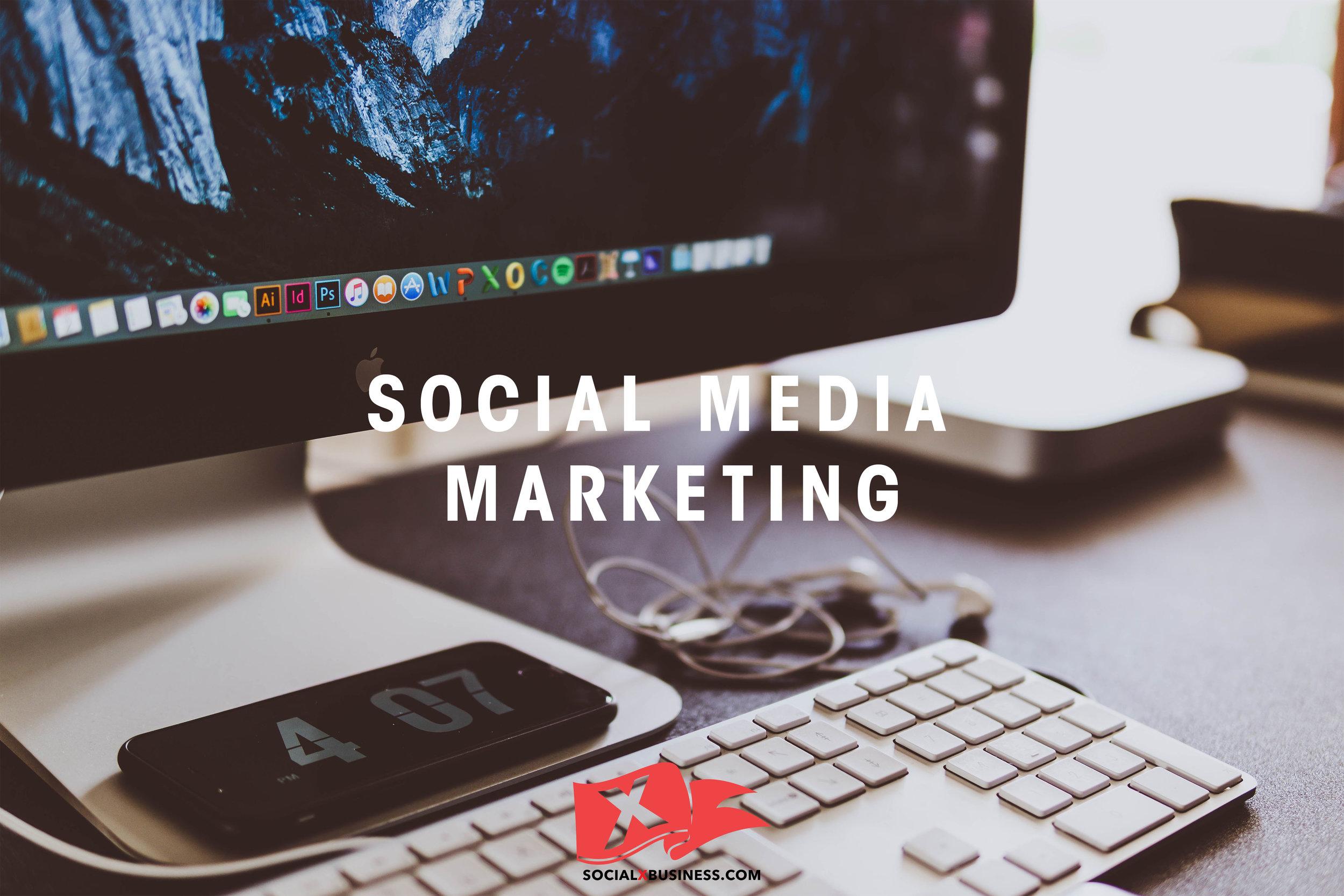 Social Media Marketing with SocialXBusiness Redding California