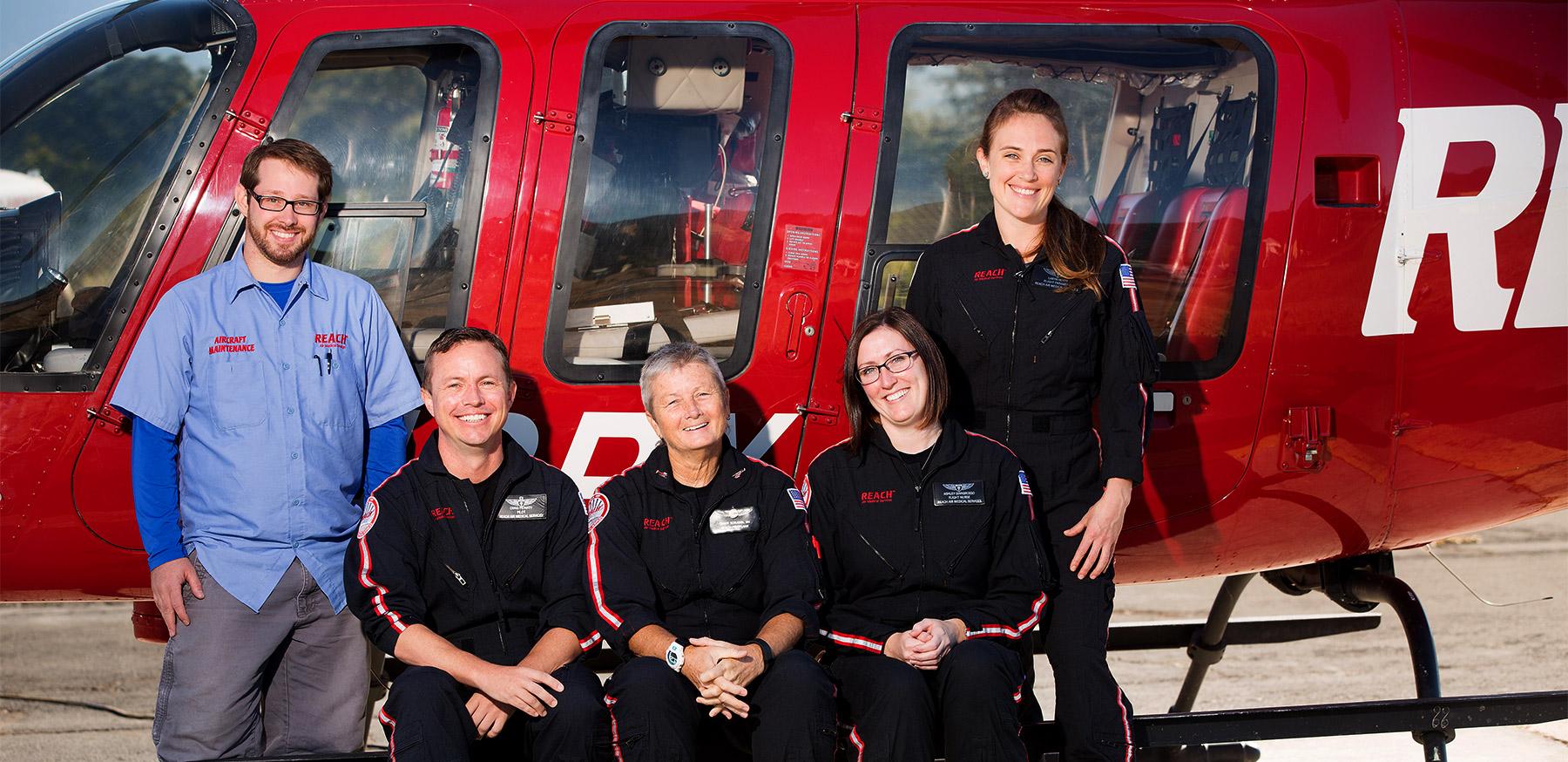Reach Air Medical | Redding Health Expo, Redding CA Health and Wellness Show