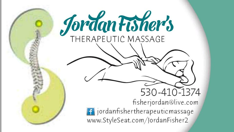 Jordan Fisher's Therapeutic Massage   Redding Health Expo, Redding CA Health and Wellness Show