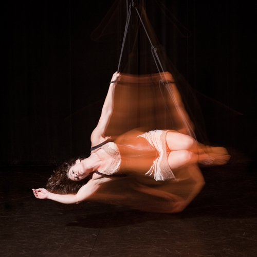 DeAnna Pellecchia  is a dancer, athlete, aerialist, actress, and choreographer committed to collaboratively creating multi-sensory works of live art.