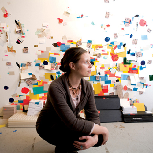Hannah Burr  has exhibited her work at the Drawing Center in NYC, Currier Museum of Art, NH, and the Museum of Fine Arts in Boston.
