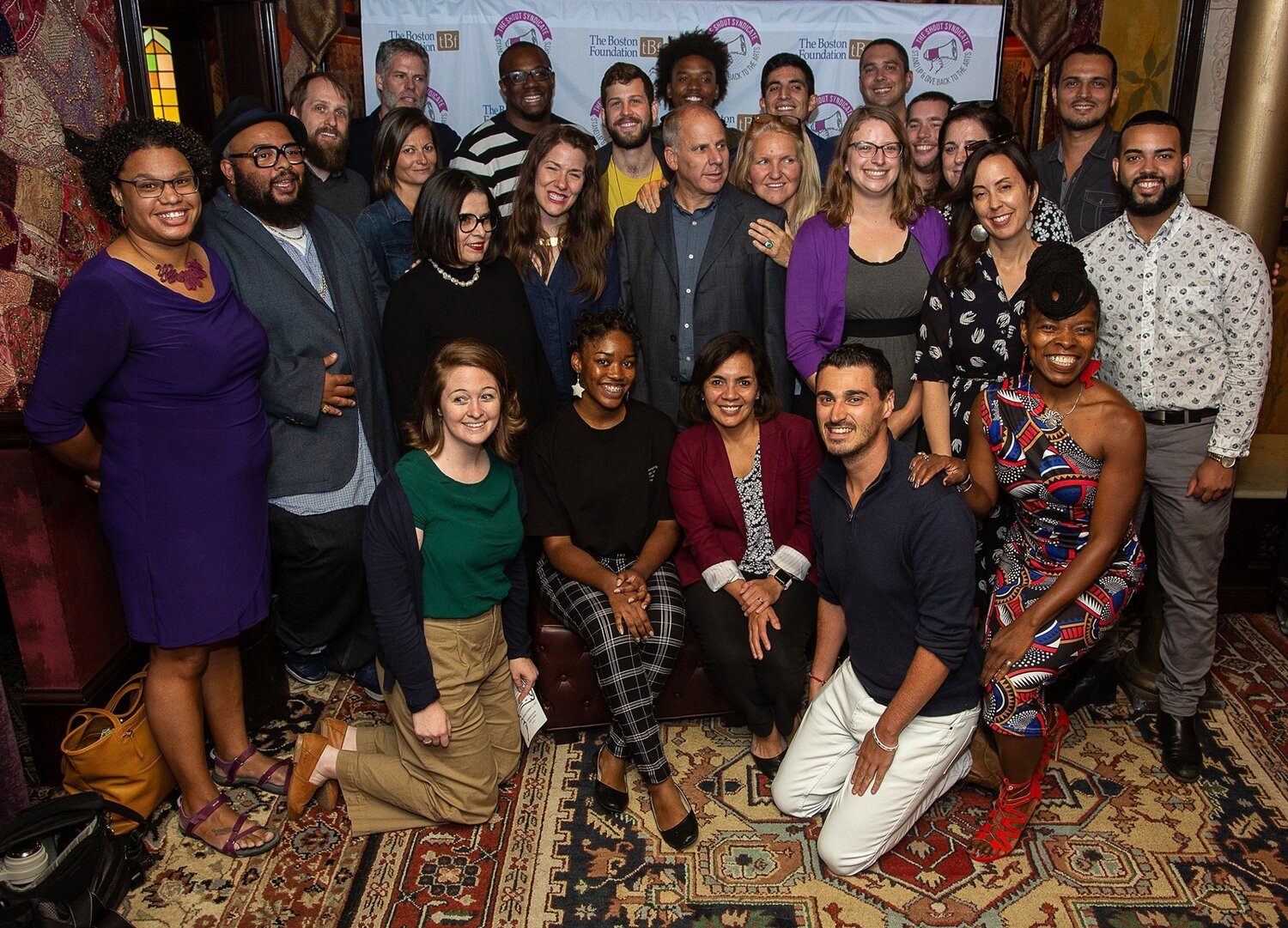 Group photo of recipients at event at the House of Blues - Photo Credit: Suzanne Oulette