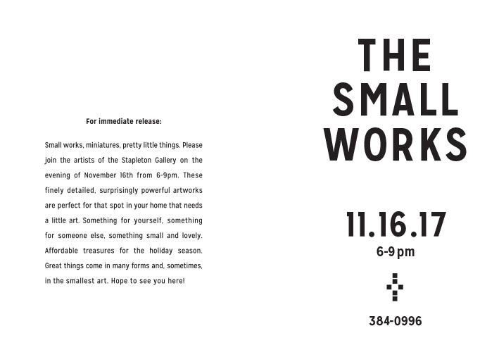 For Immediate Release - Small Works.jpg