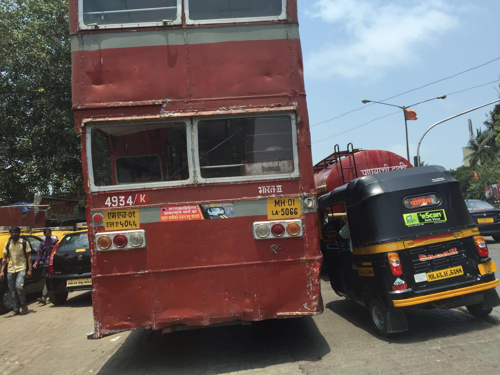 Crazy Mumbai traffic