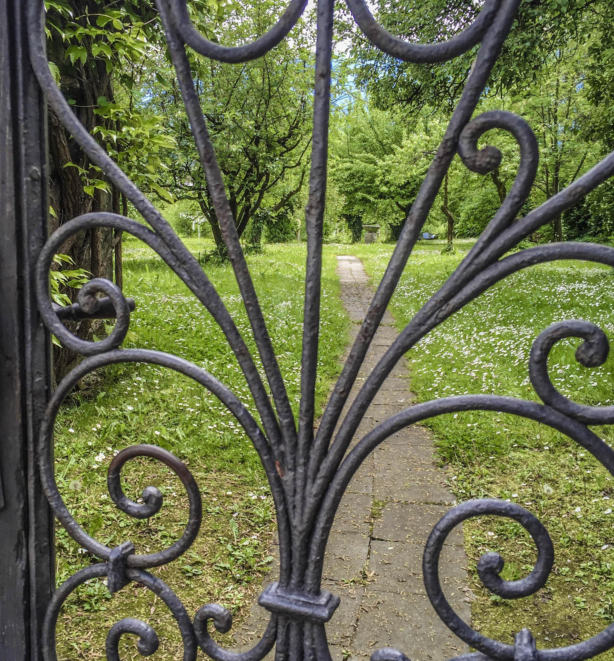 A secret garden in Innsbruck