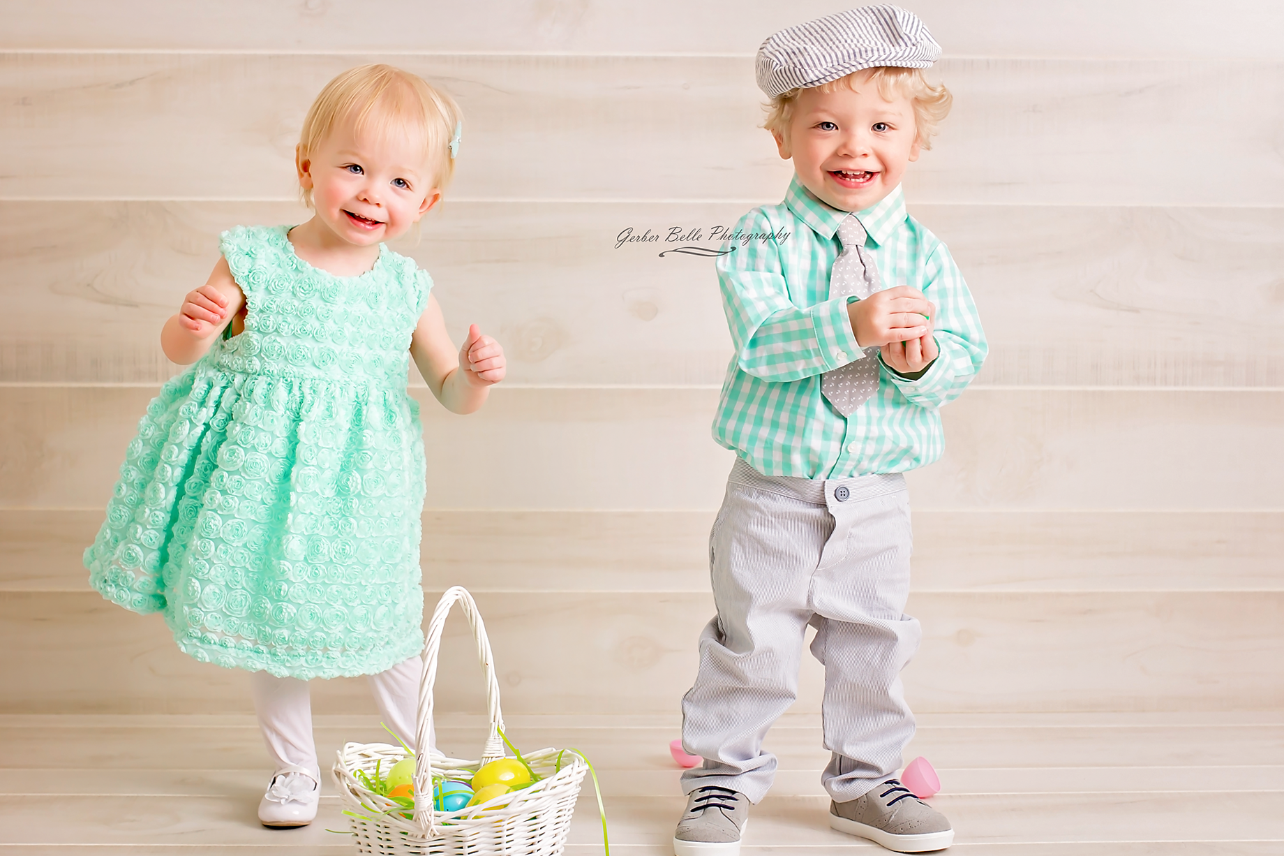 These two loved every moment of their 18 month session!
