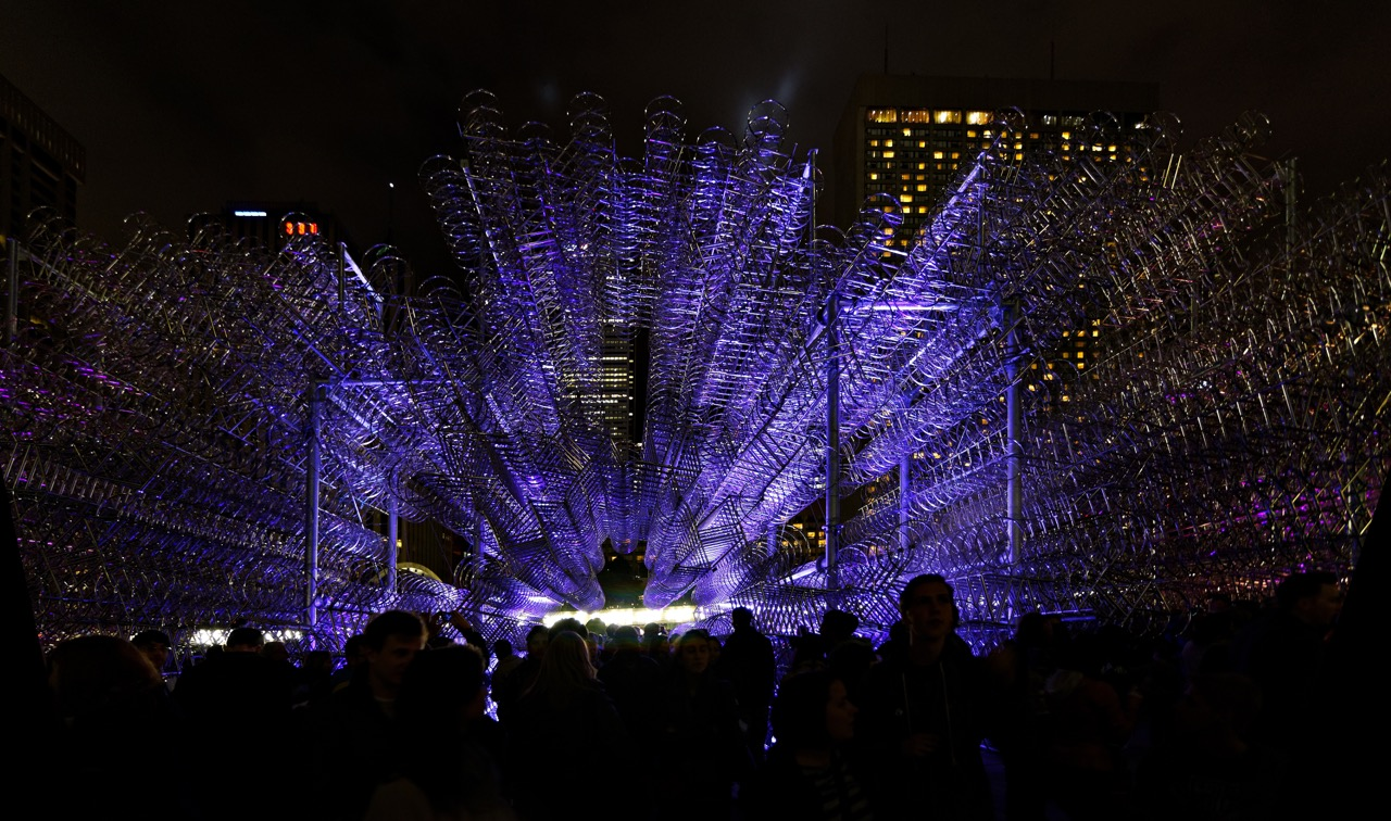 NUIT BLANCHE EXHIBIT BY ARTIST AI WEI WEI     Photo Credit: licensed through shutterstock.com