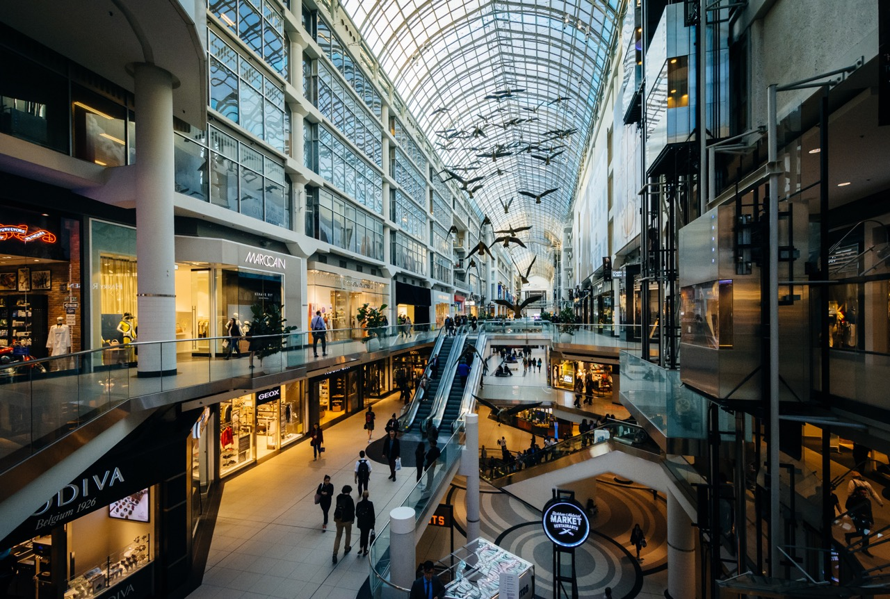 EATON'S CENTRE     Photo Credit: licensed through shutterstock.com