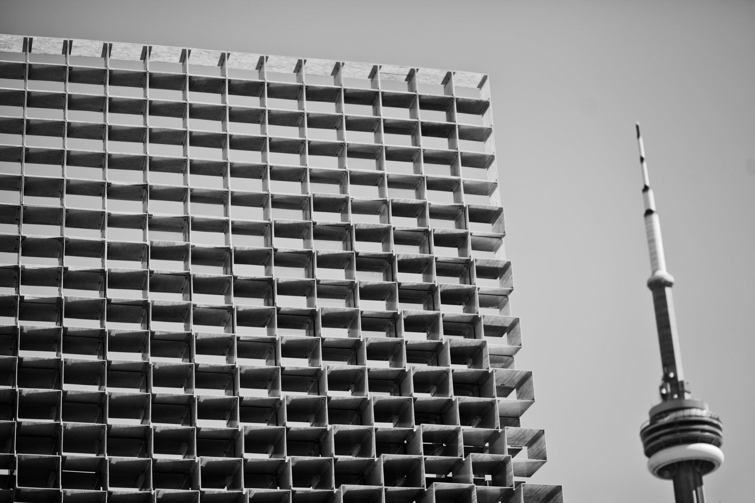 Unzipped pavilion Bjarke Ingels Toronto Architecture Toronto Architect Ontario Design Westfield Katia Marten Blogger After 50 CN Tower