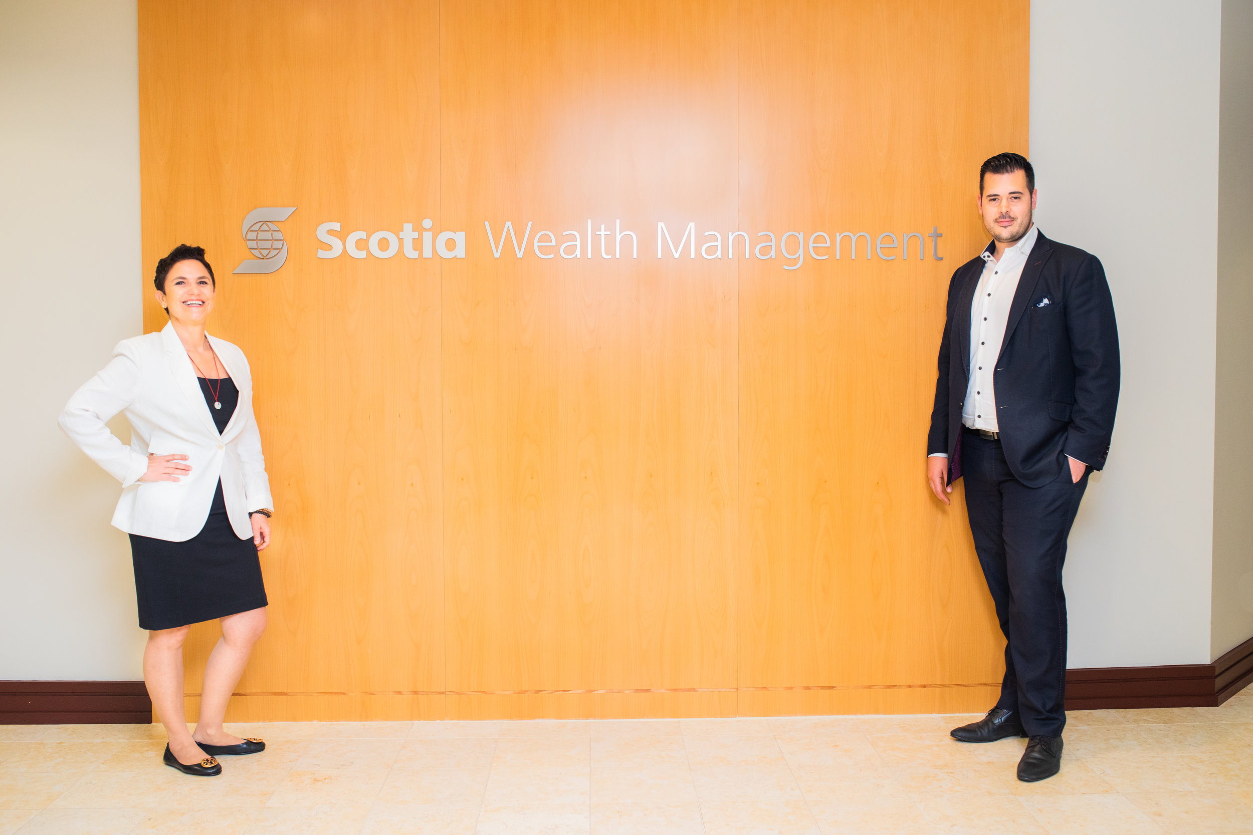 Scotia Wealth Financial Management 2019 wealth advisor Stephen Pietro Katia In Toronto Ontario Canada Investments Stocks Bonds Financial Planner Educator Speaker