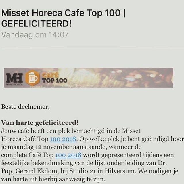 Joehoe🎉🎉🎉#cafetop100 #trots #denolifant
