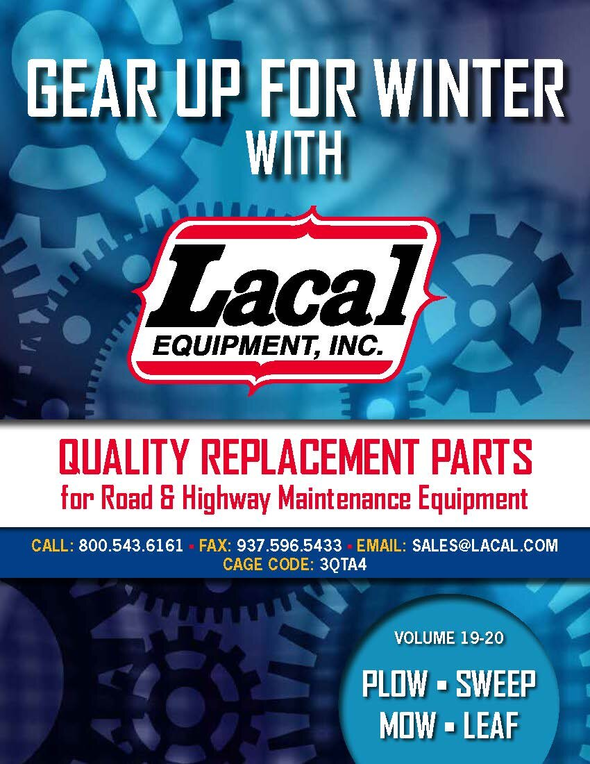 """WINTER EQUIPMENT - No matter what the weather you have during """"Winter"""", Lacal has the parts to keep your maintenance equipment running at its best."""