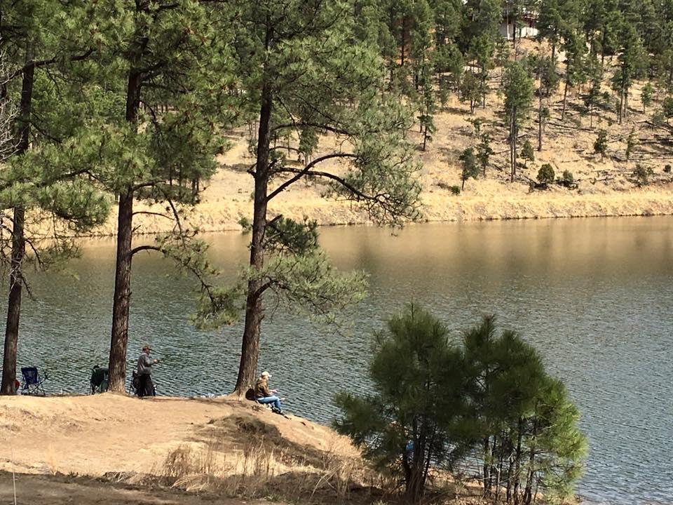 Fishing at Grindstone Lake