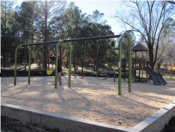 Carson Playground, Wingfield Park, Ruidoso