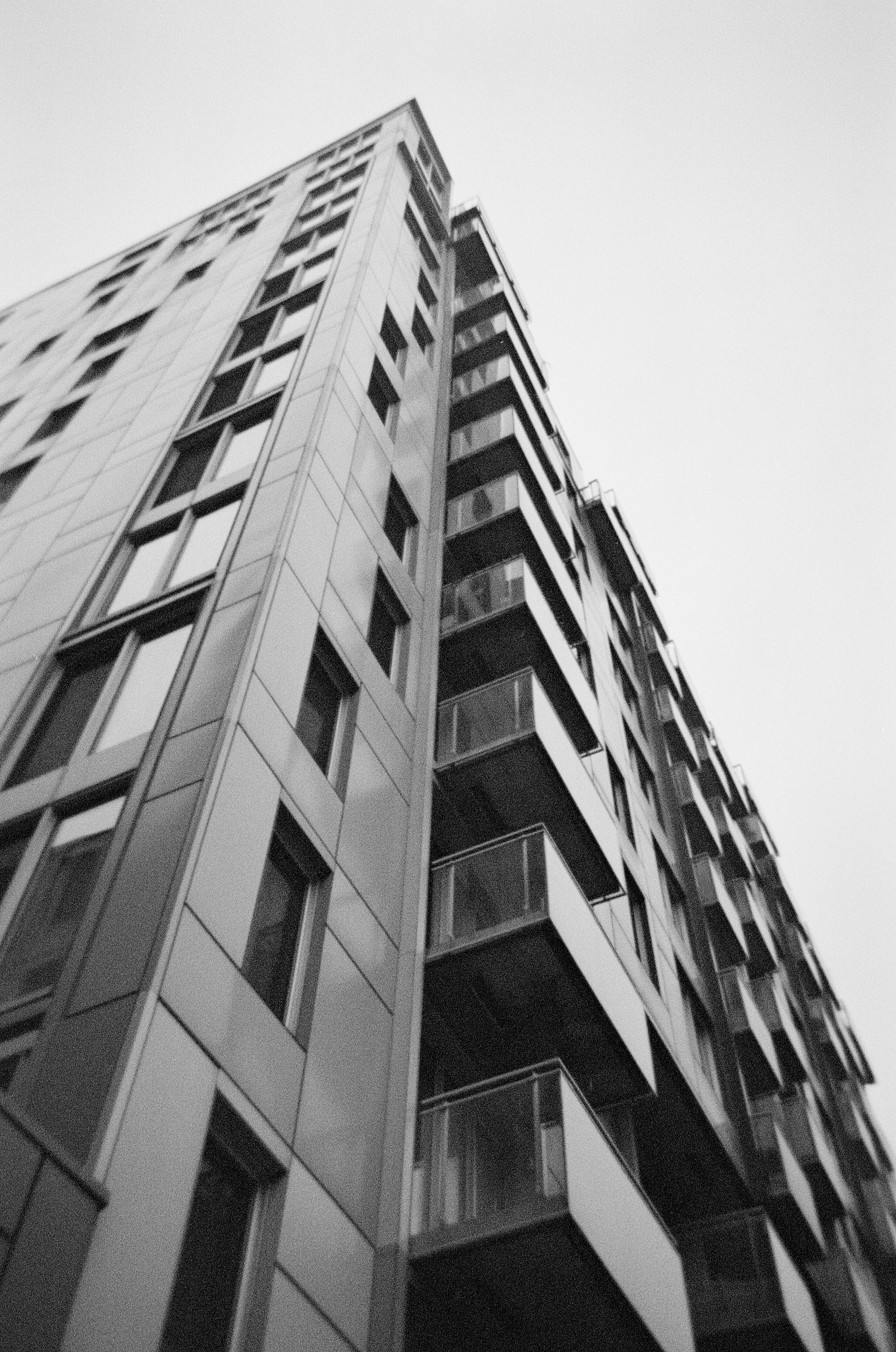 Downtown - Ilford XP2